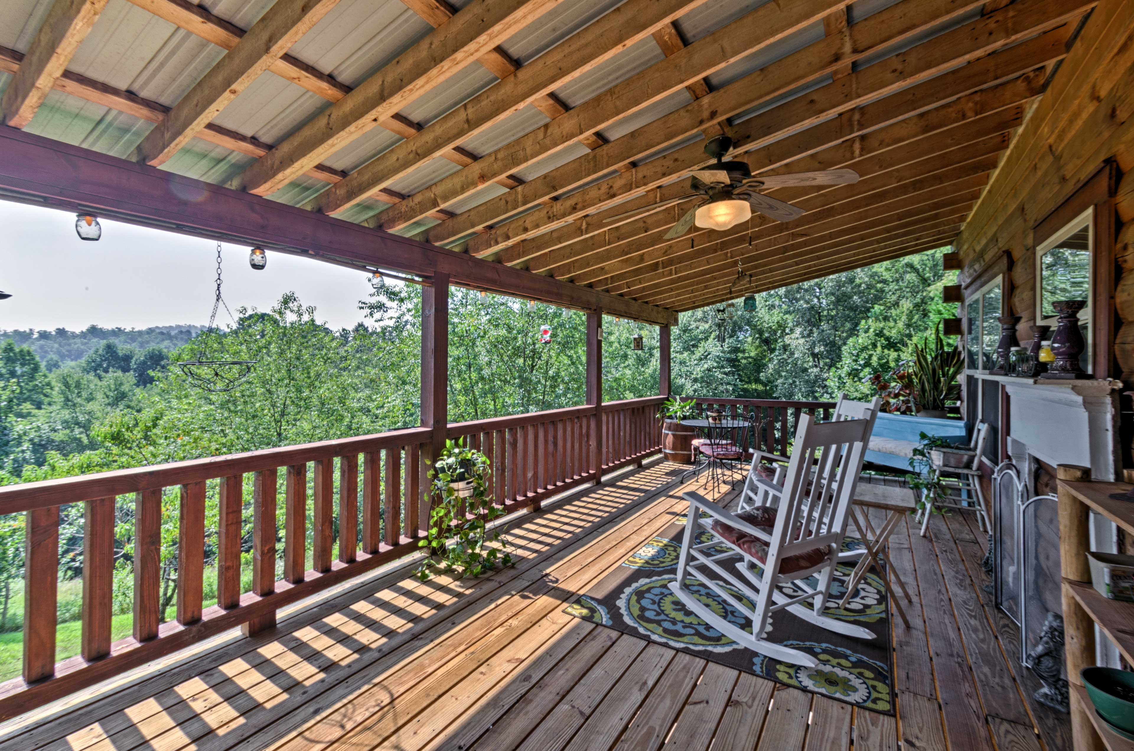 This lovely property is nestled on 3 acres offering 3 bedrooms and 2 bathrooms.