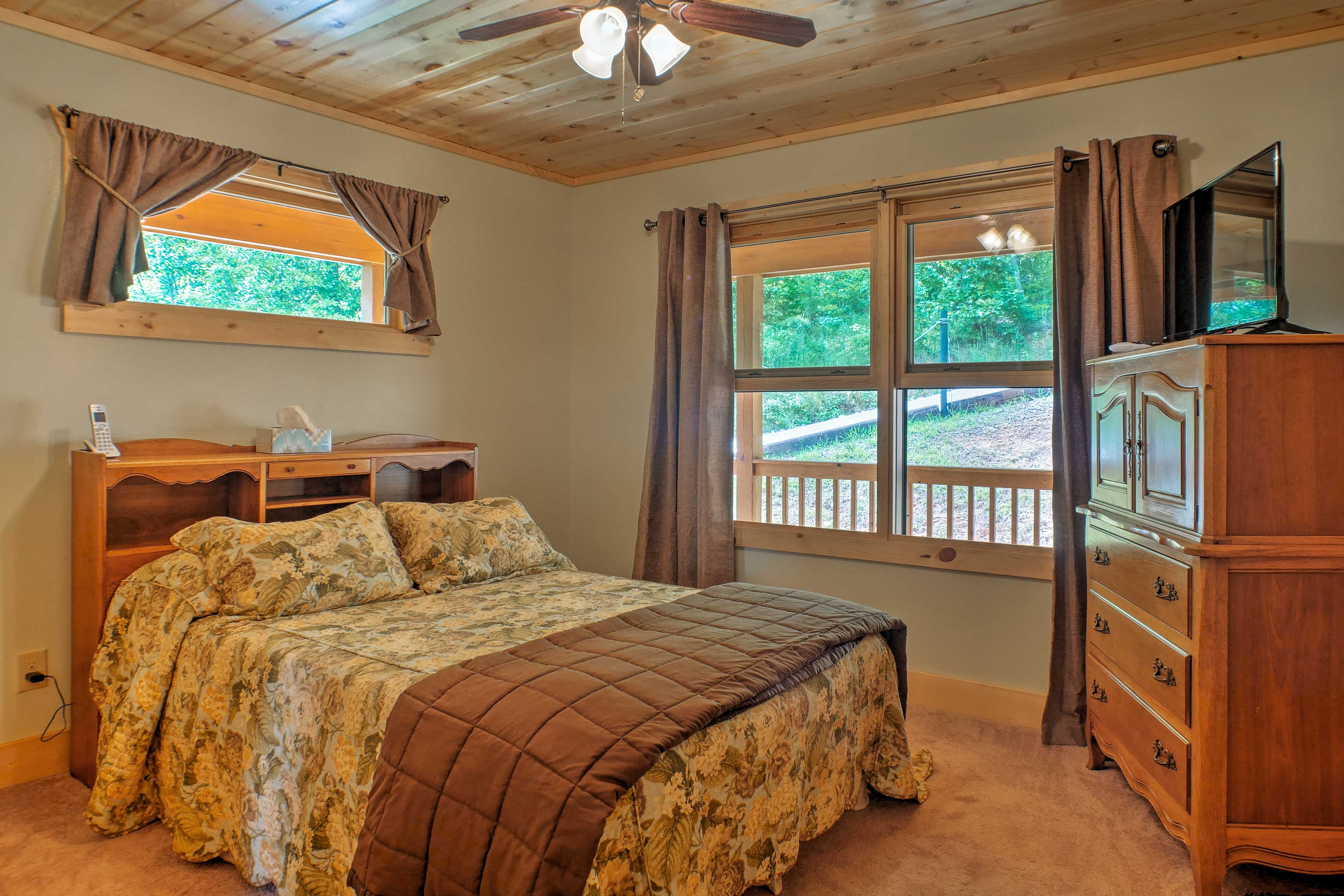 Retreat to one of 3 bedrooms for a peaceful slumber.