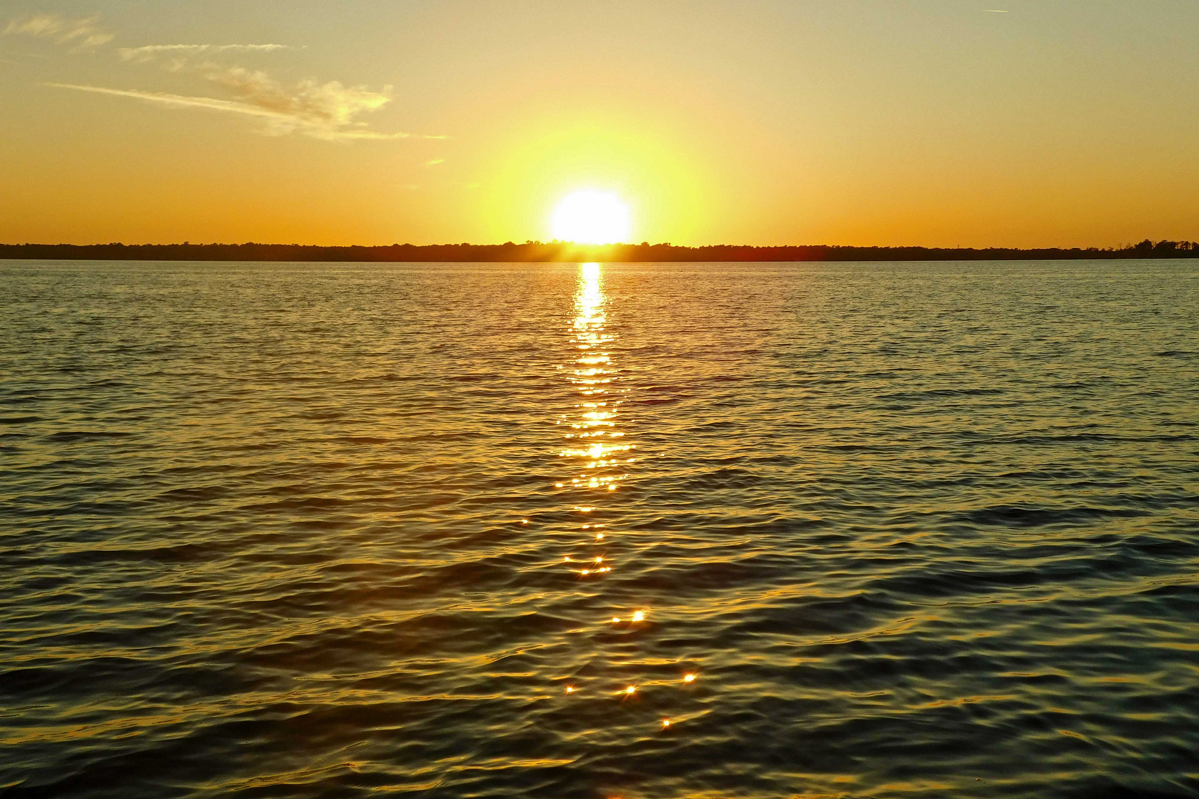 Soak in breathtaking sunset views!