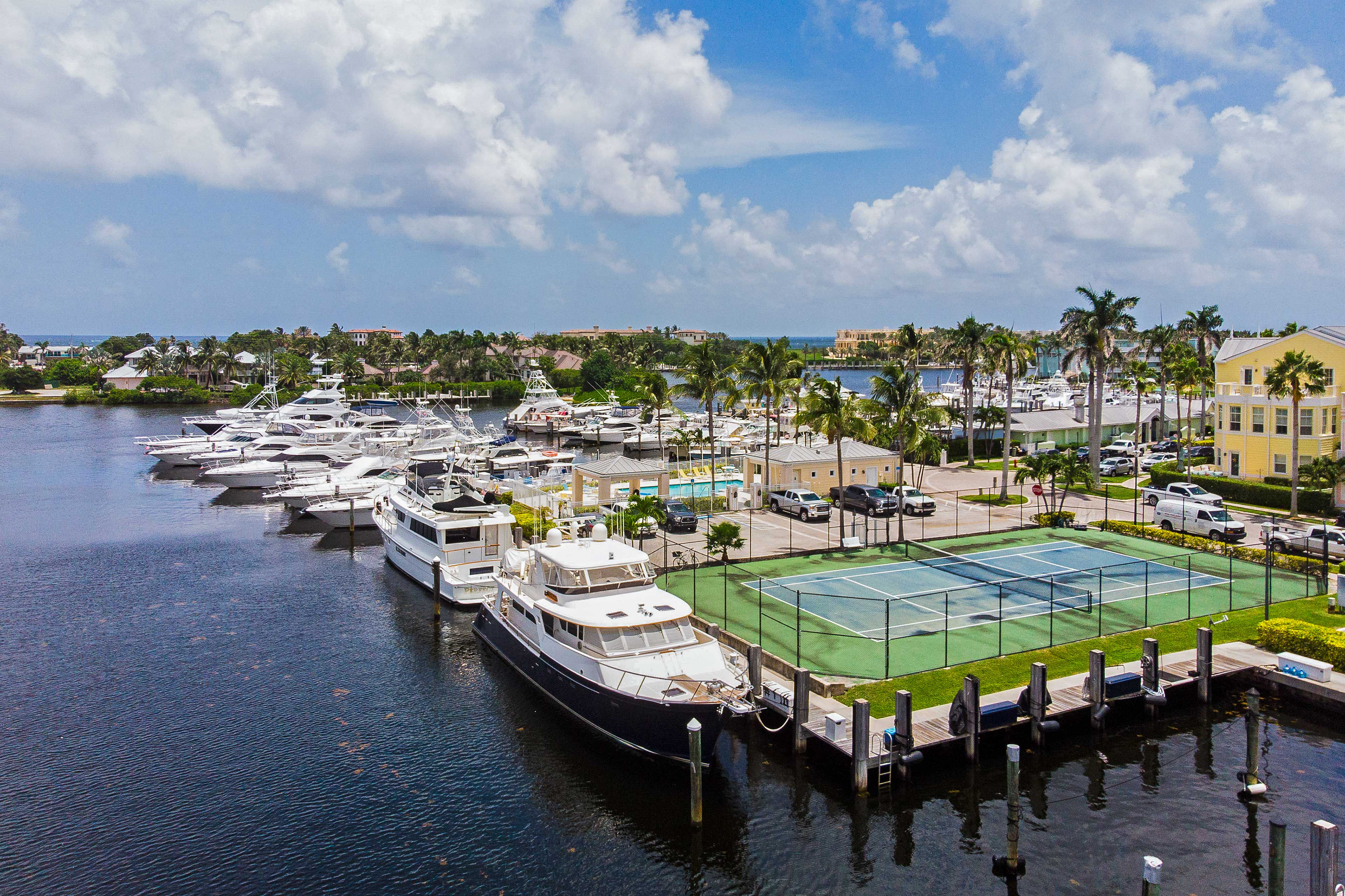 The marina is sure to be a centerpiece of your stay.