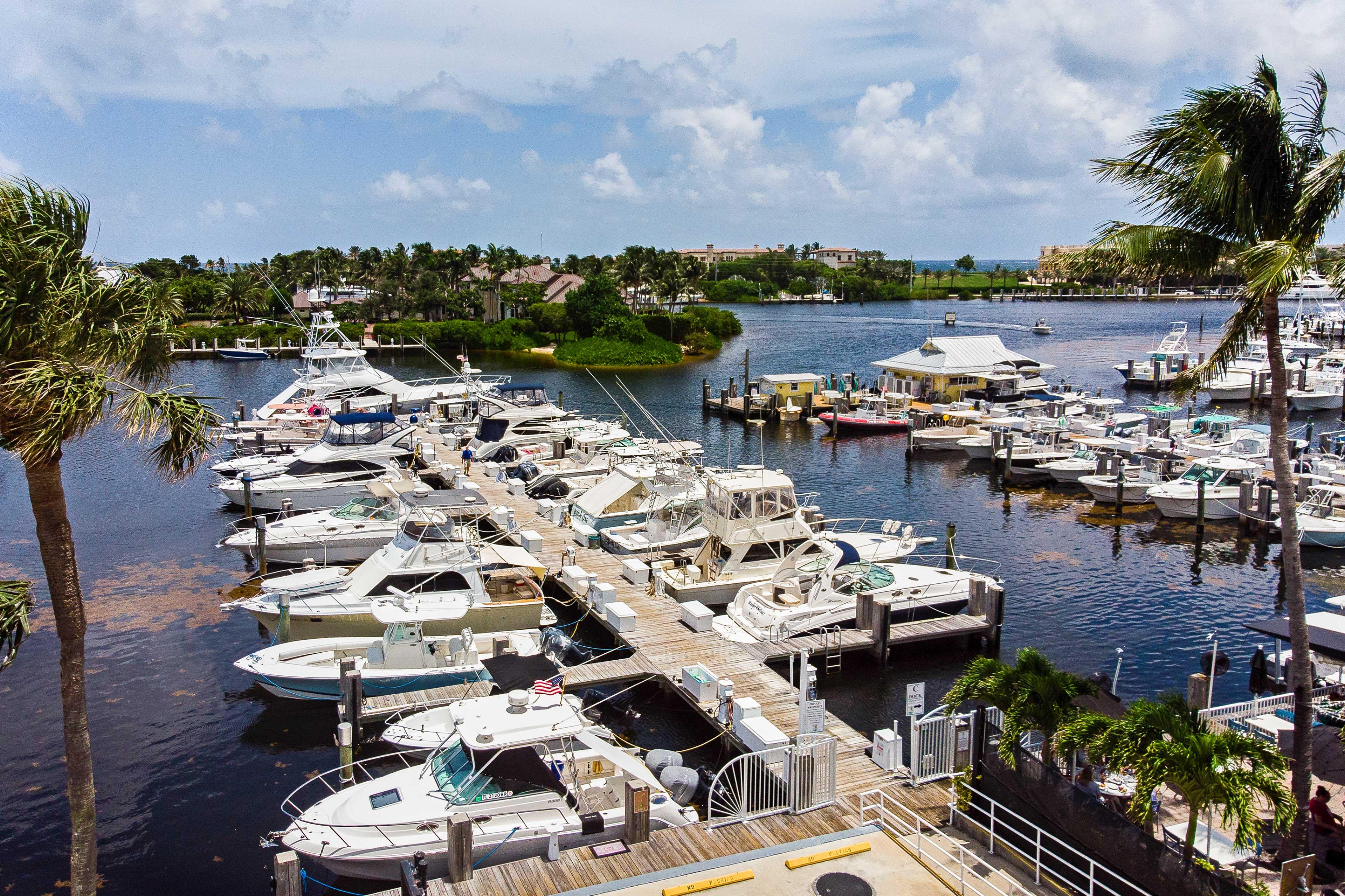 Enjoy a boat ride from the marina.