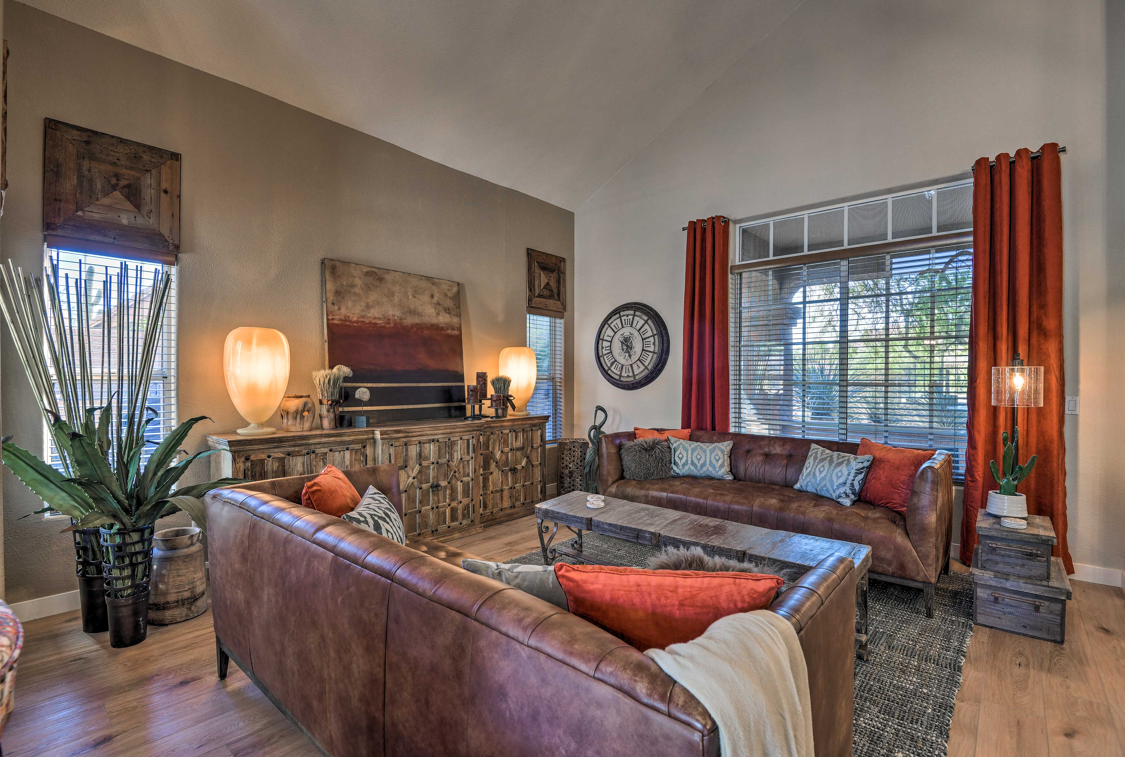 The air-conditioned interior offers over 2,800 square feet of living space!
