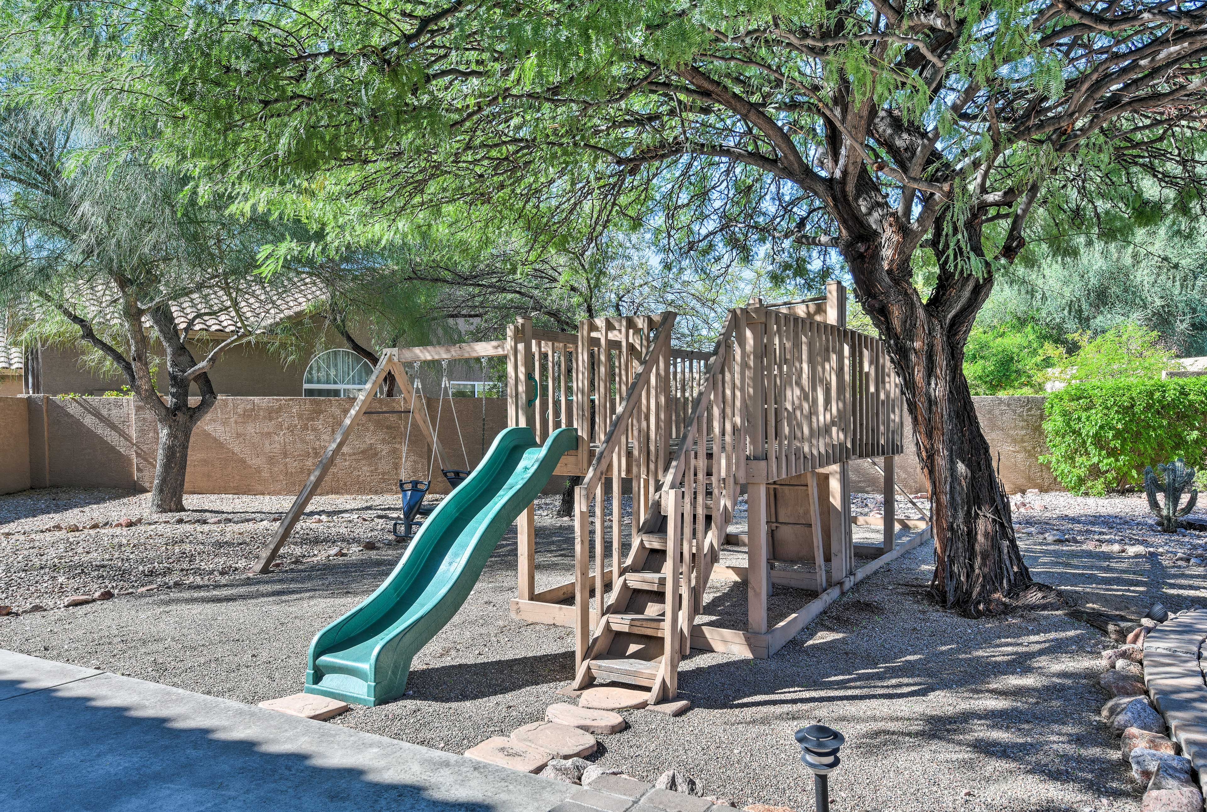 Your kids will love the playground.