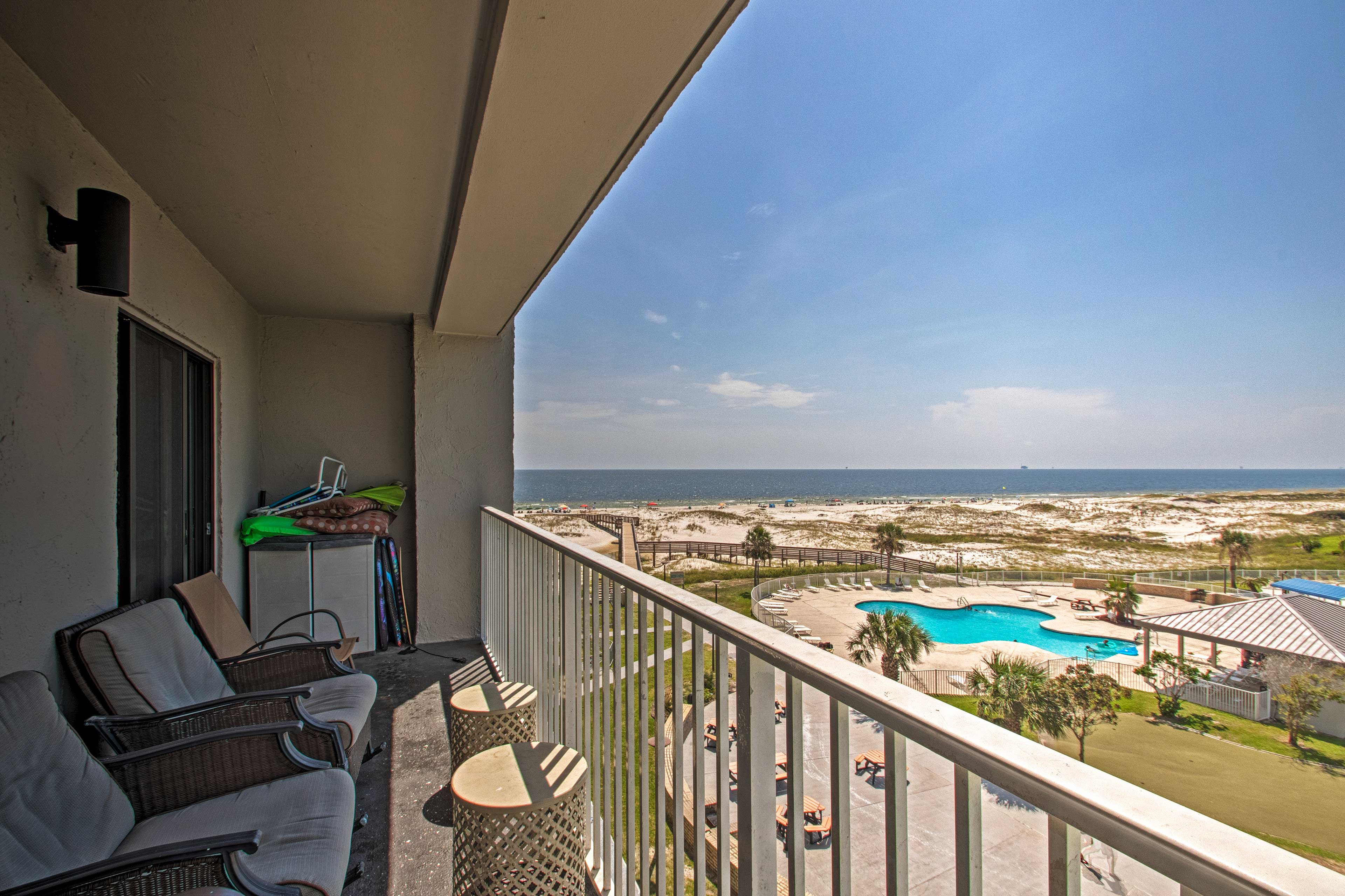 Gulf Shores Vacation Rental | 2BR | 2BA | Elevator Access