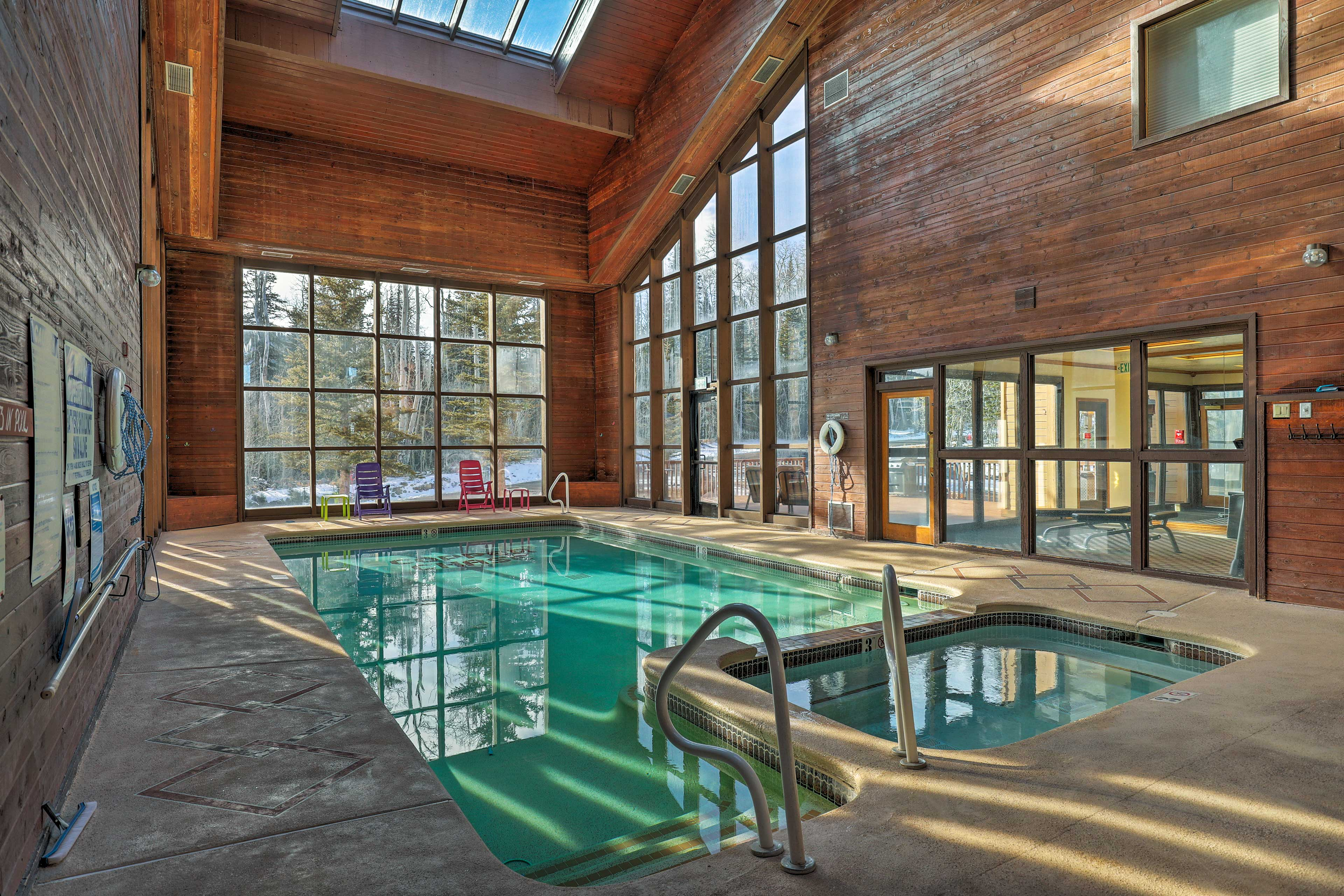 You'll be thrilled with the Copper Chase amenities like an indoor pool.