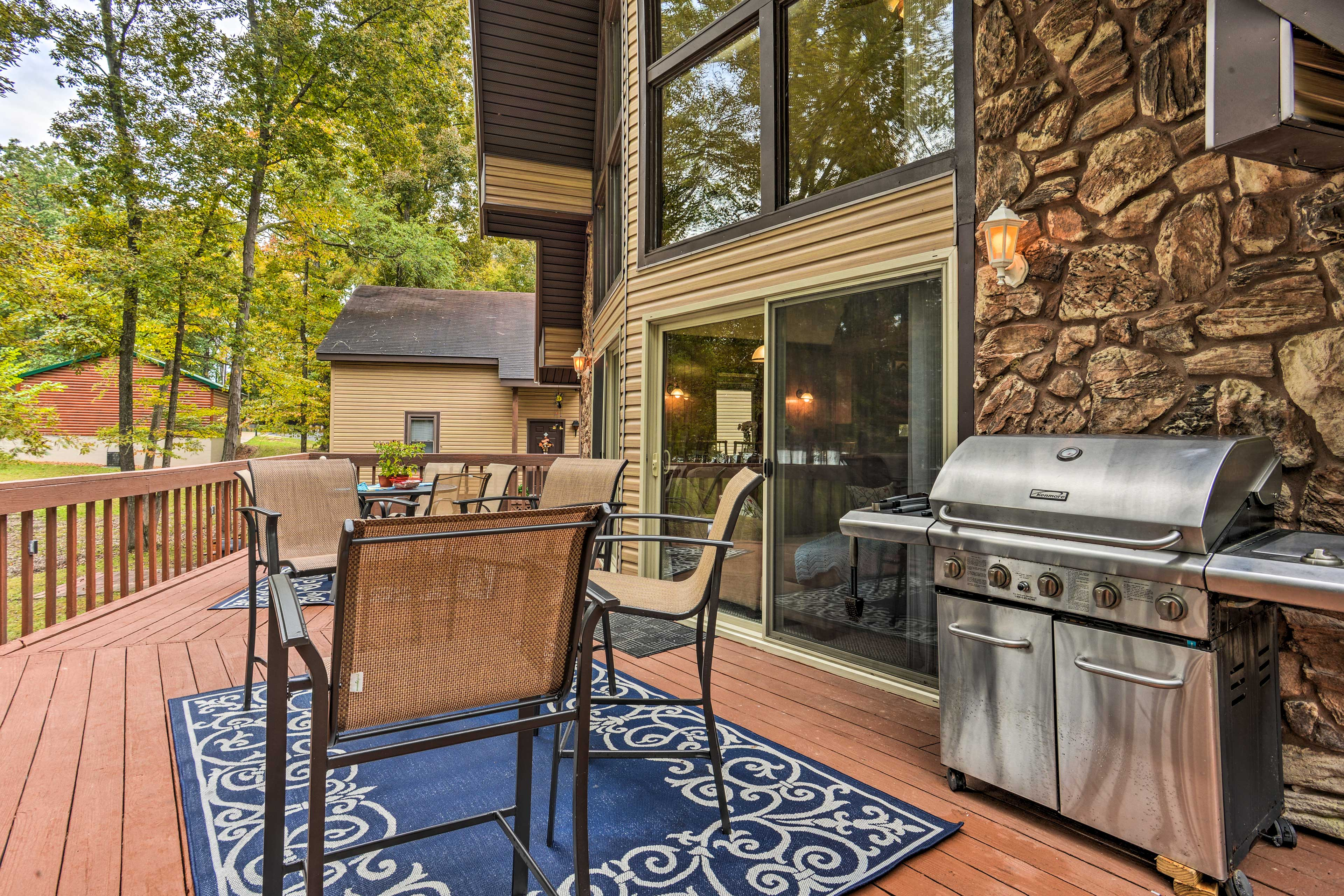 Host an at-home barbecue when you fire up the gas grill!