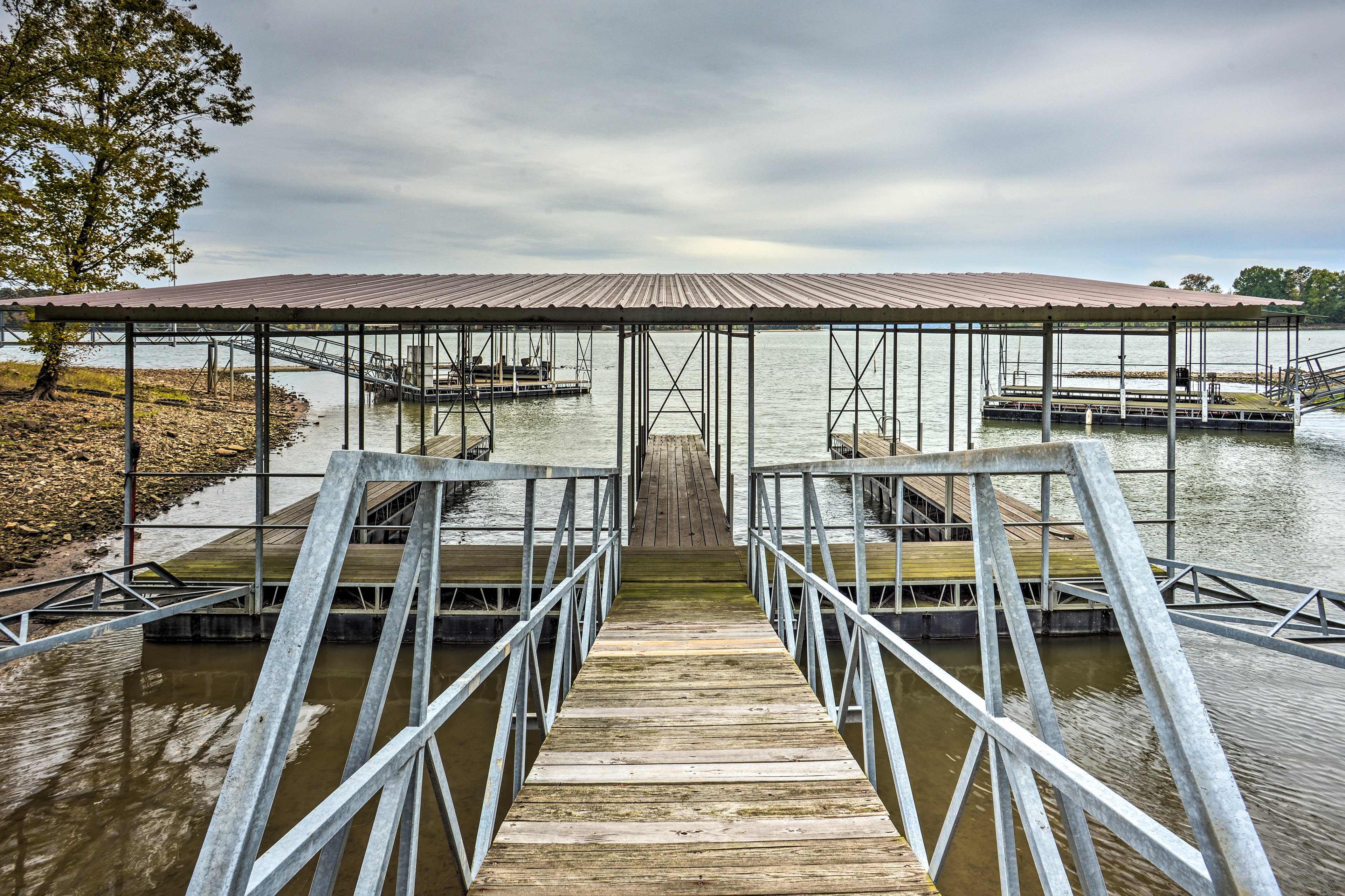 Dock your boat after exploring Kentucky Lake!