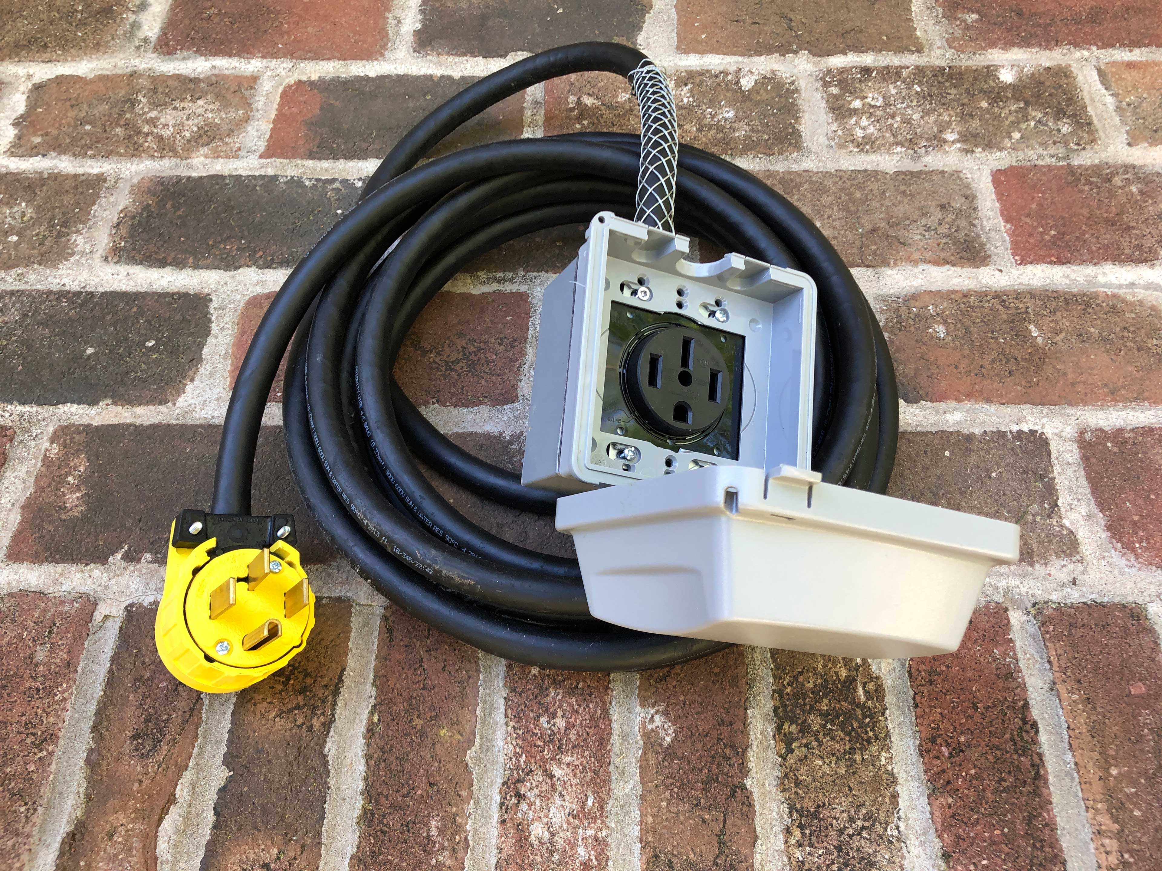Home Exterior   Electric Car Charger