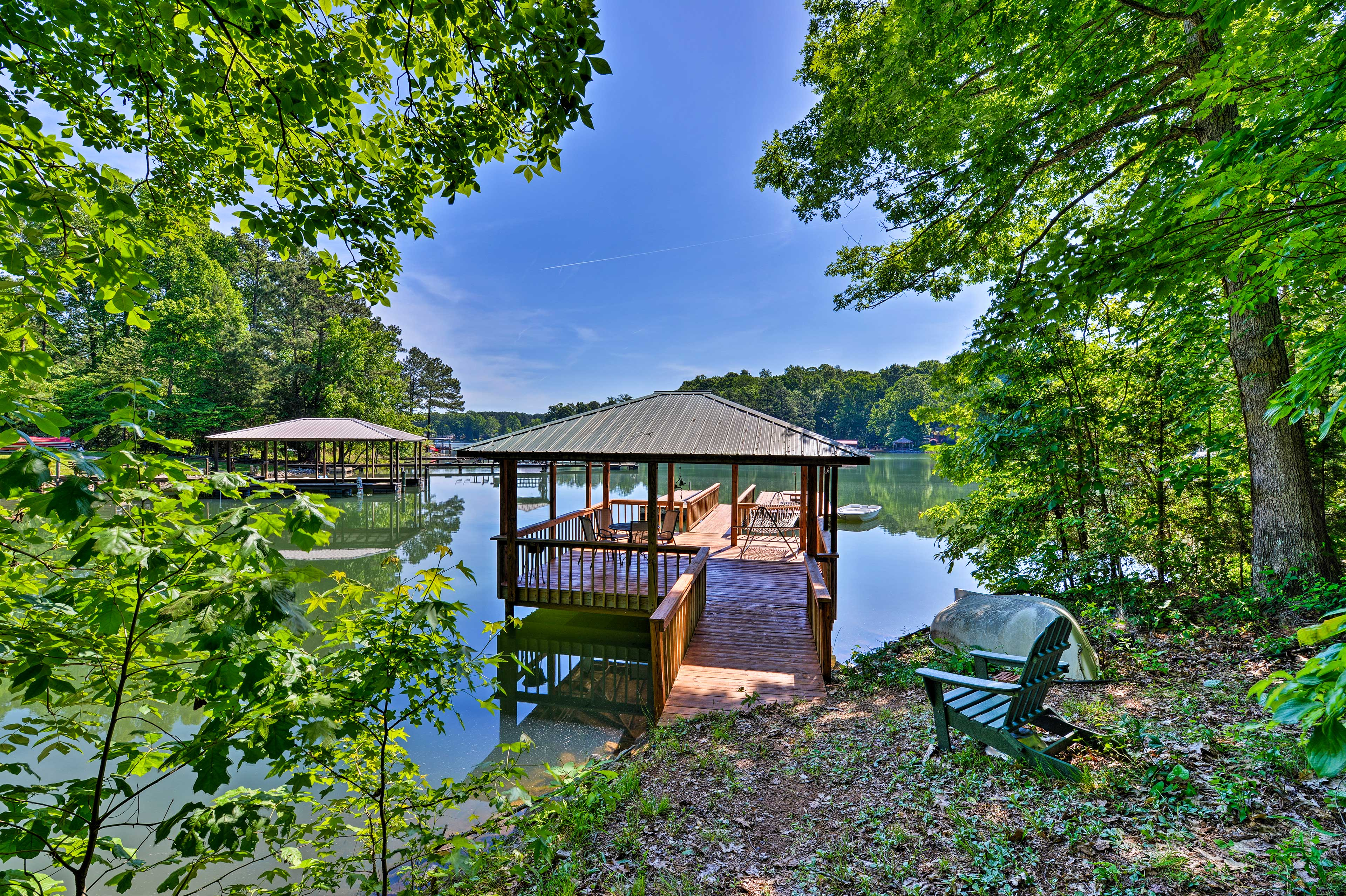 Book your Mooresville getaway to this tranquil 3-bedroom, 1-bath vacation rental
