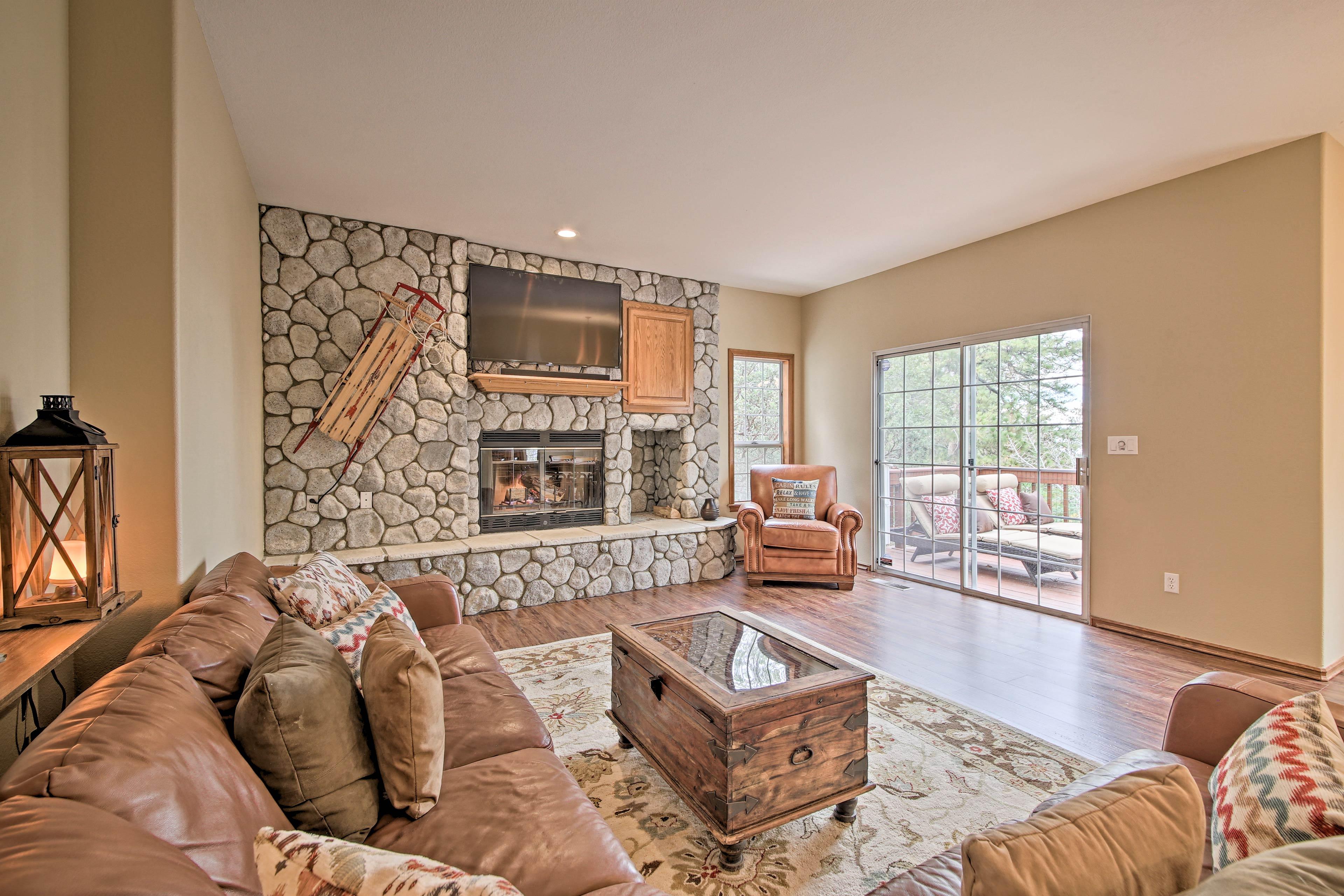 Lake Arrowhead Vacation Rental House   4BR   3.5BA   12 Guests   4,350 Sq Ft
