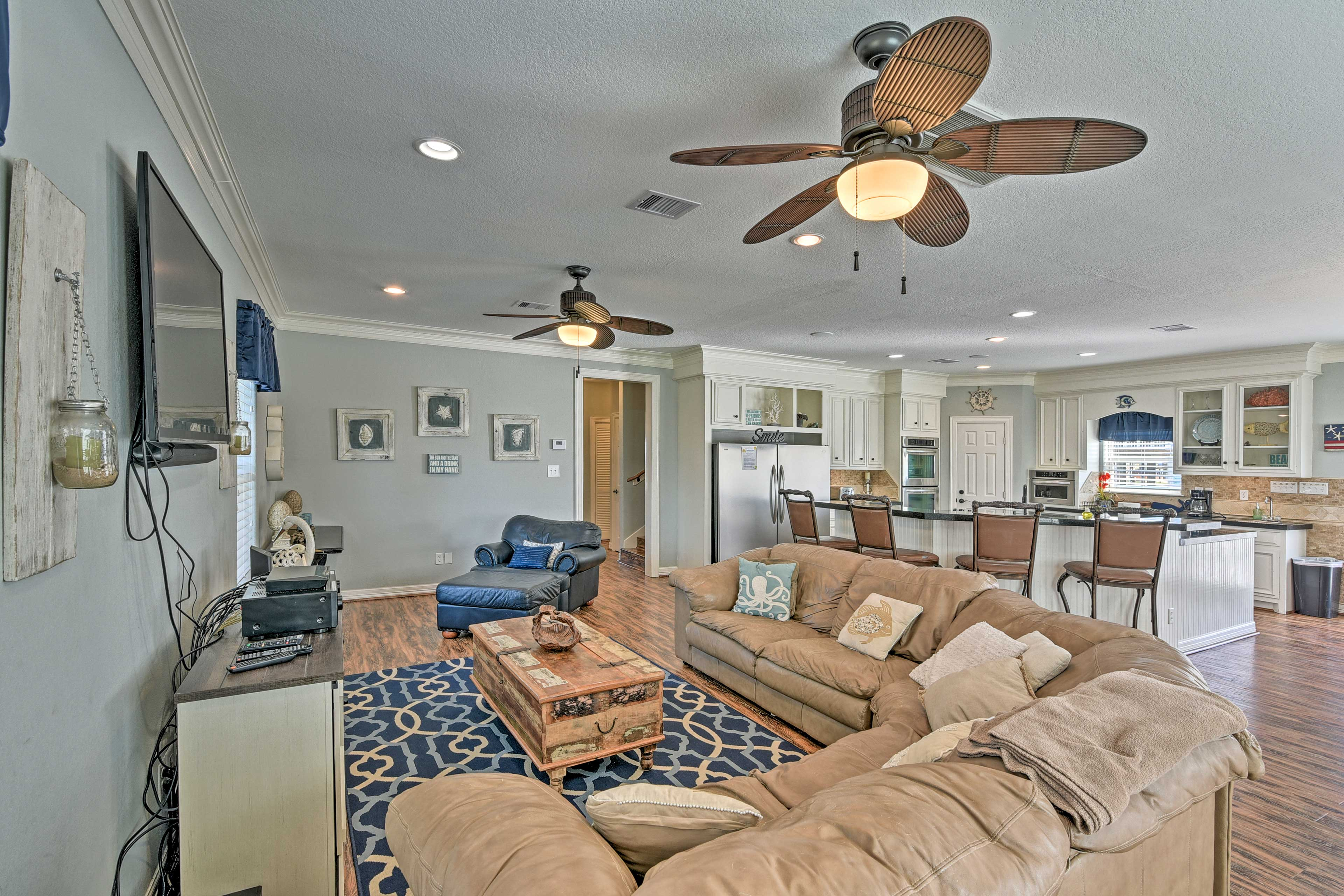 Surfside Beach Vacation Rental | 4BR | 4BA | Steps Required