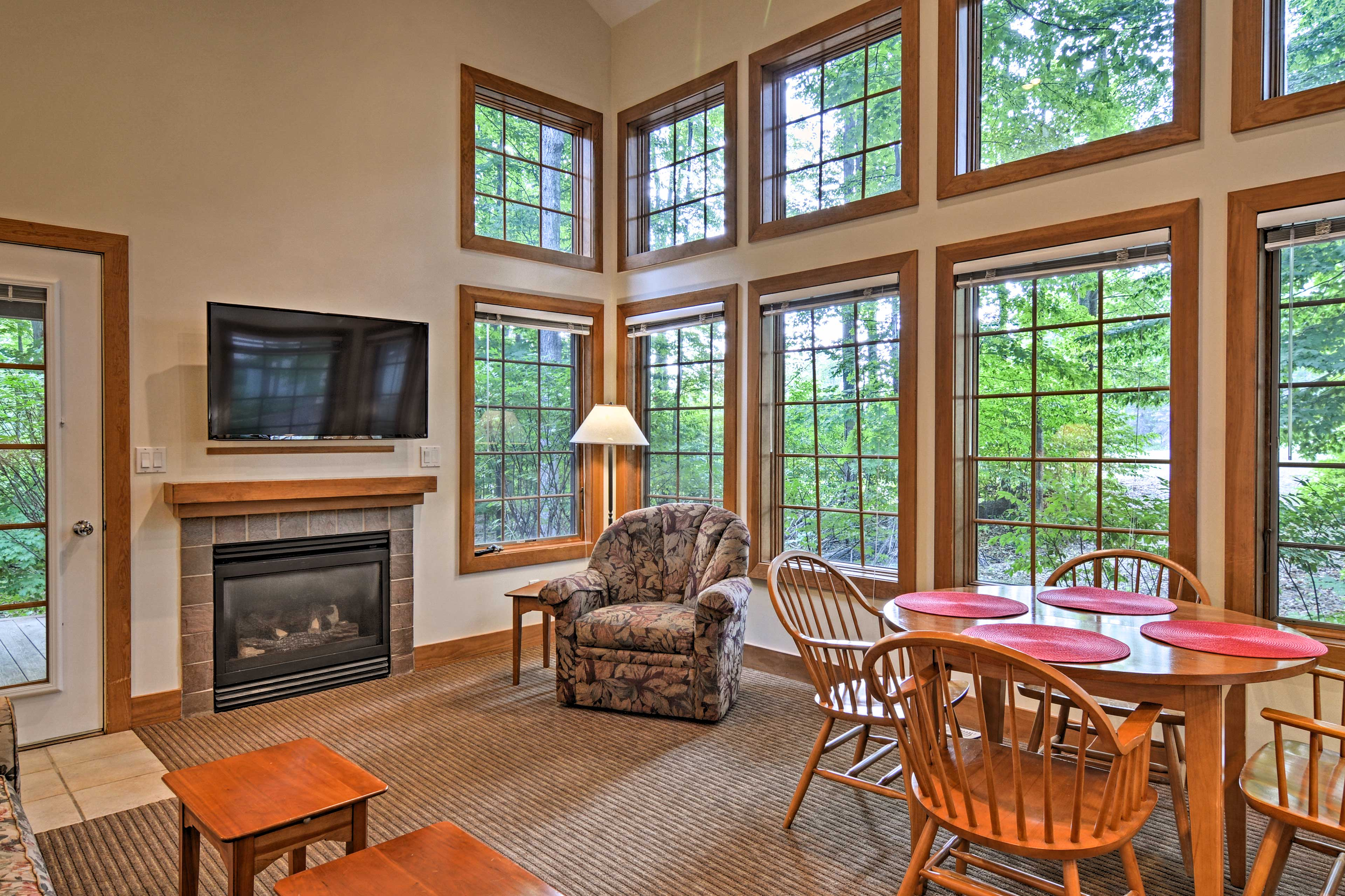 An unforgettable mountain getaway is in store for 12 at this Boyne Falls condo!