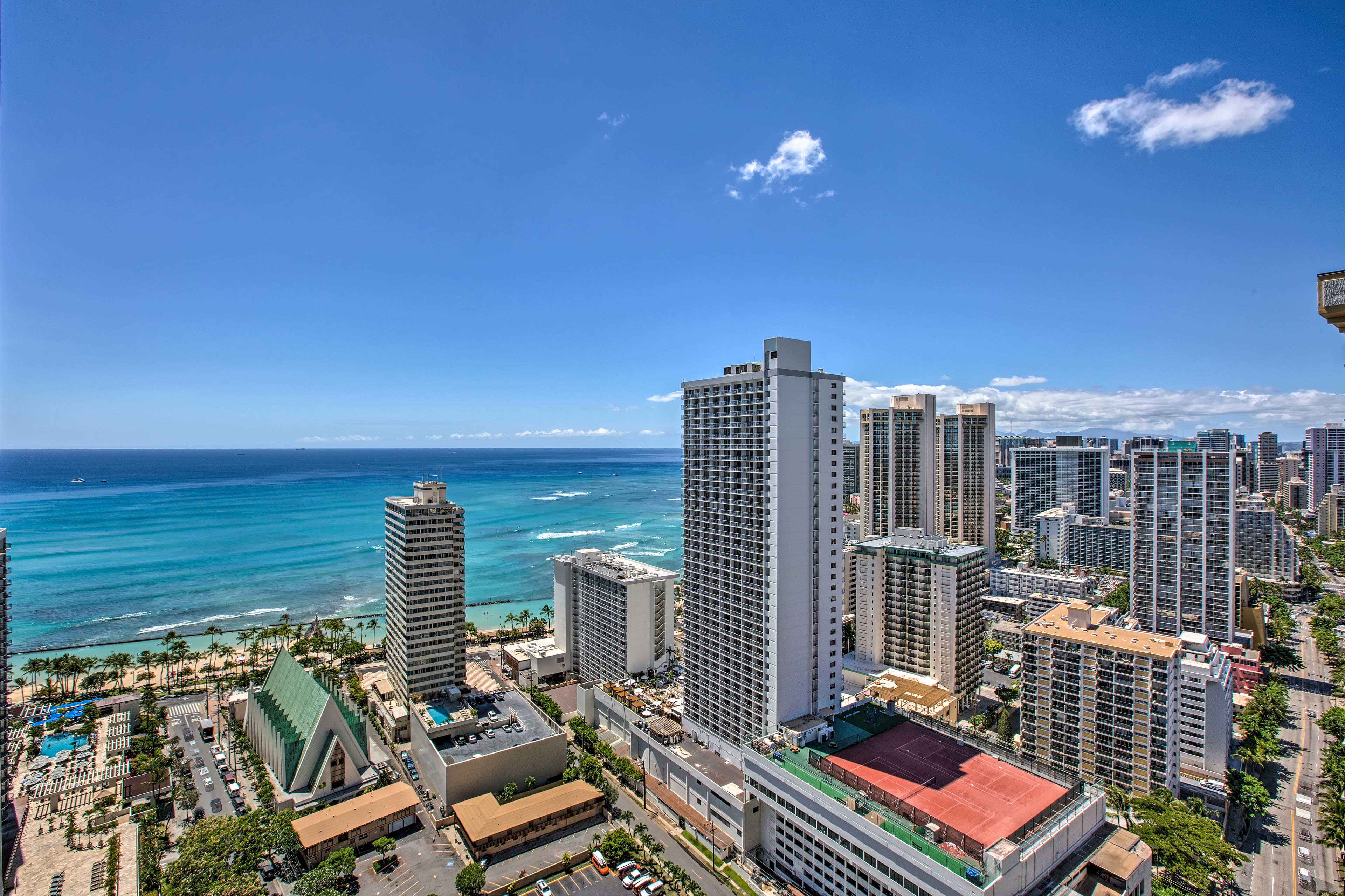 The views from this condo simply can't be beat!