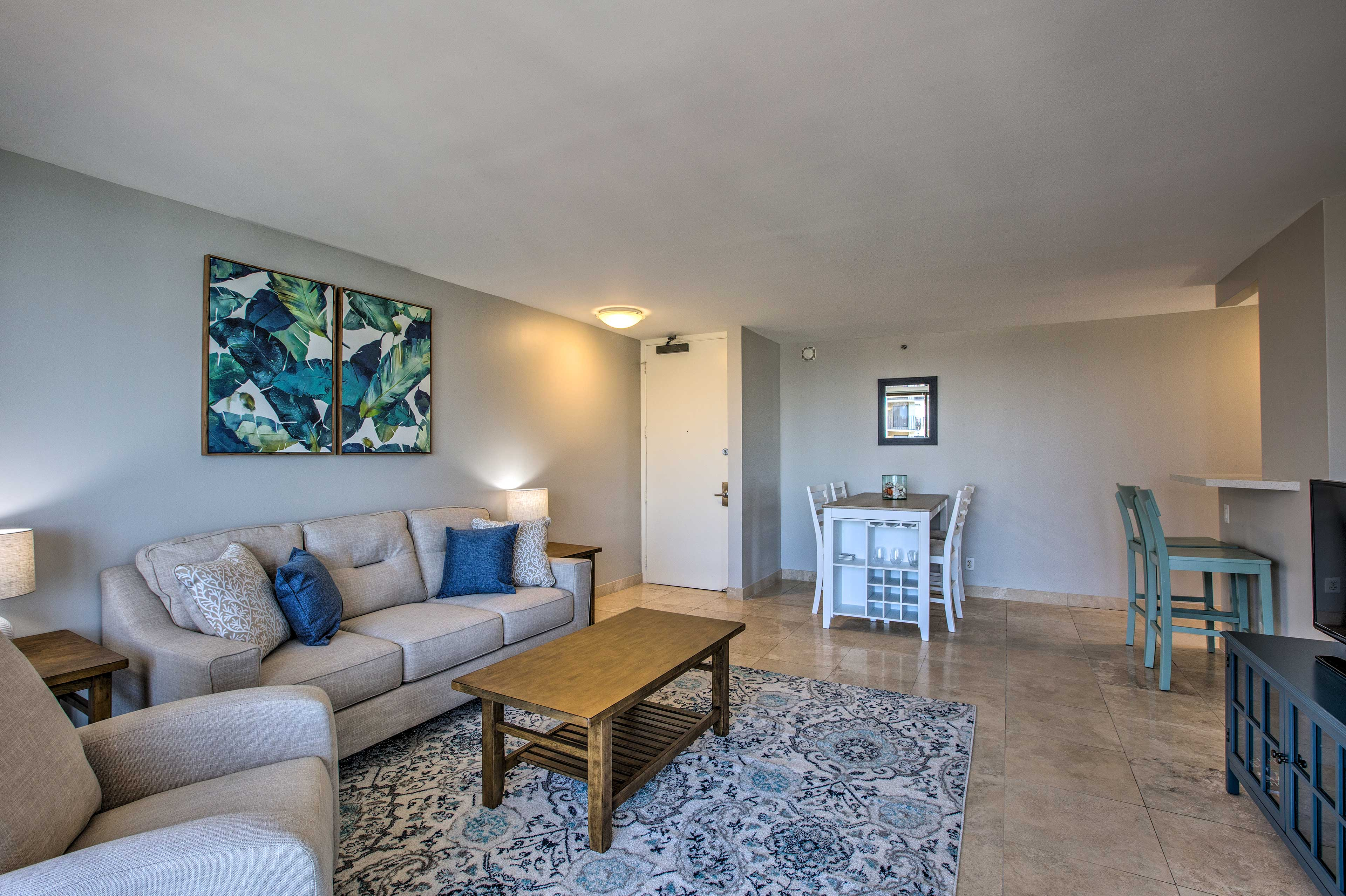 Make yourself at home in this bright and spcaious living area.