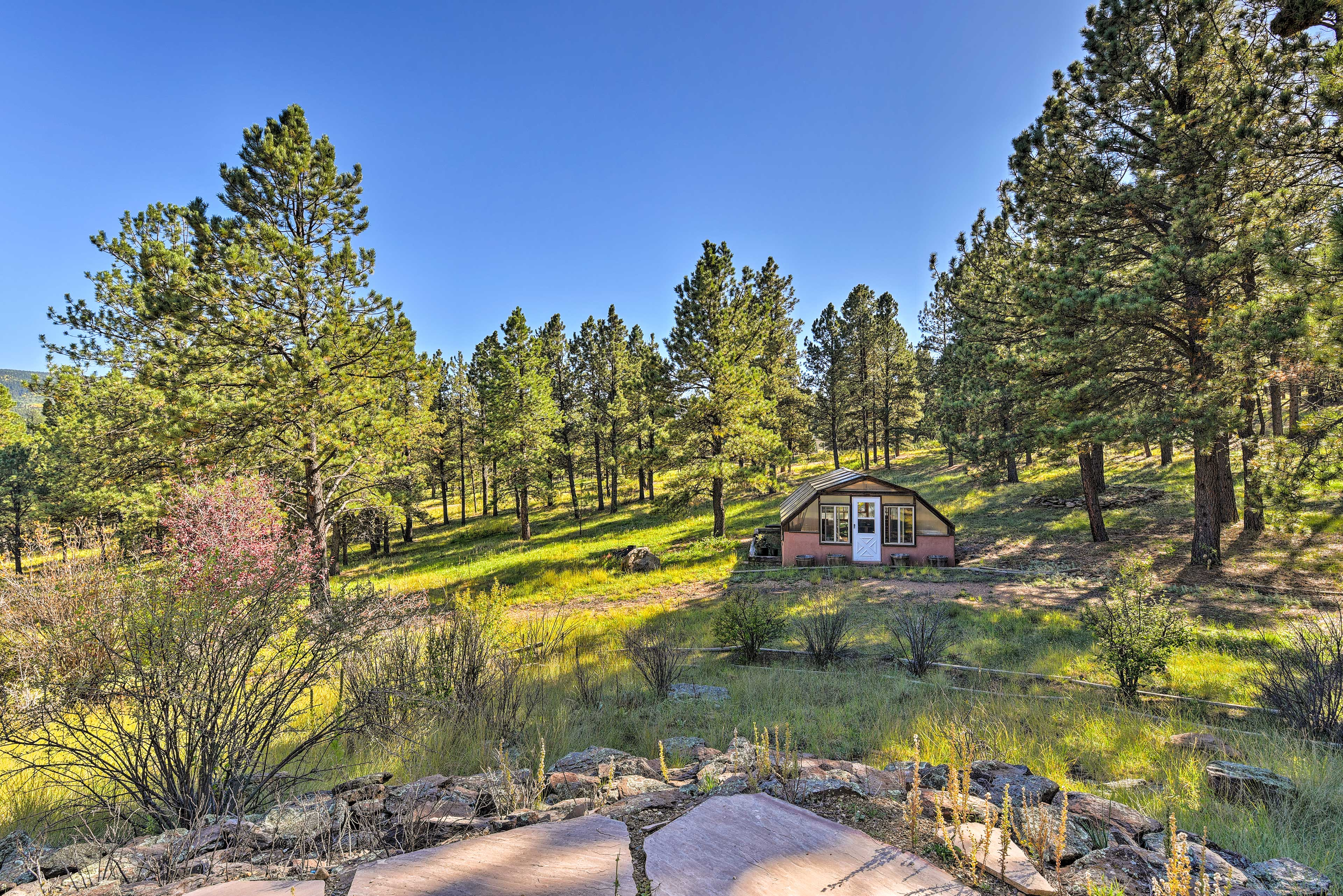 This scenic setting will be yours to enjoy just minutes from Angel Fire Resort.