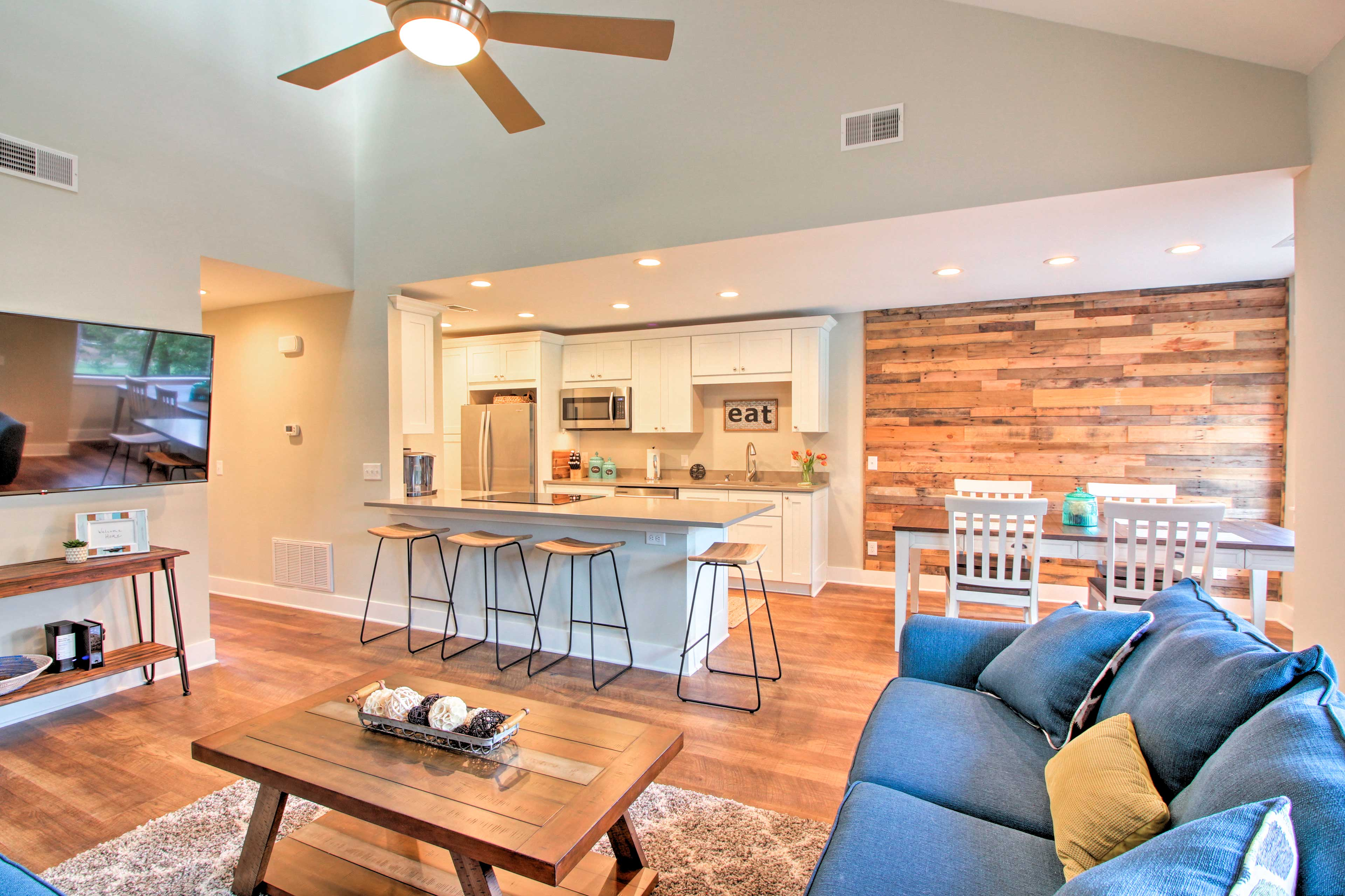 This stunning condo is the place to book for your next getaway to Hilton head!