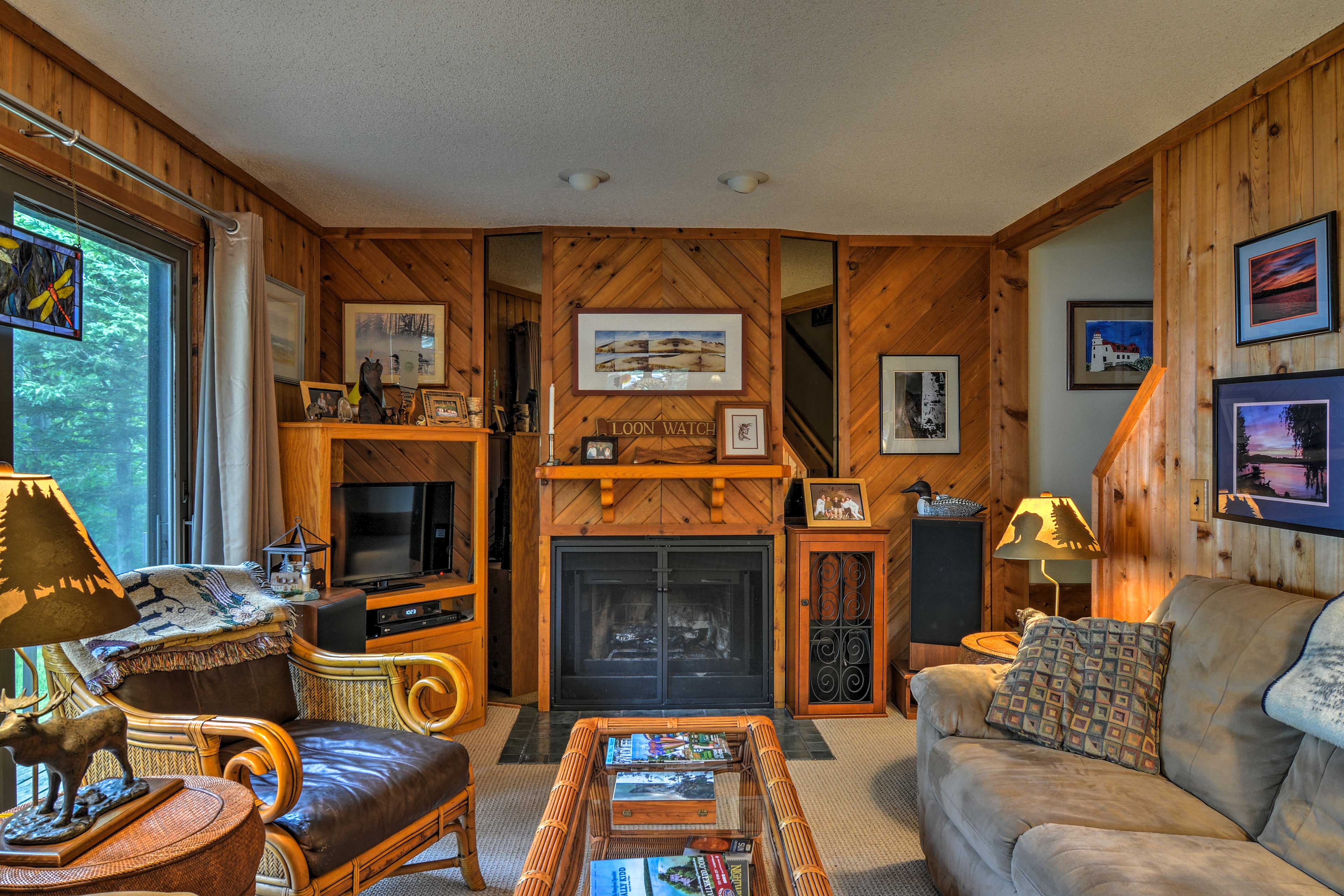 This 3-bedroom, 2-bathroom vacation rental is perfect for a relaxing retreat!