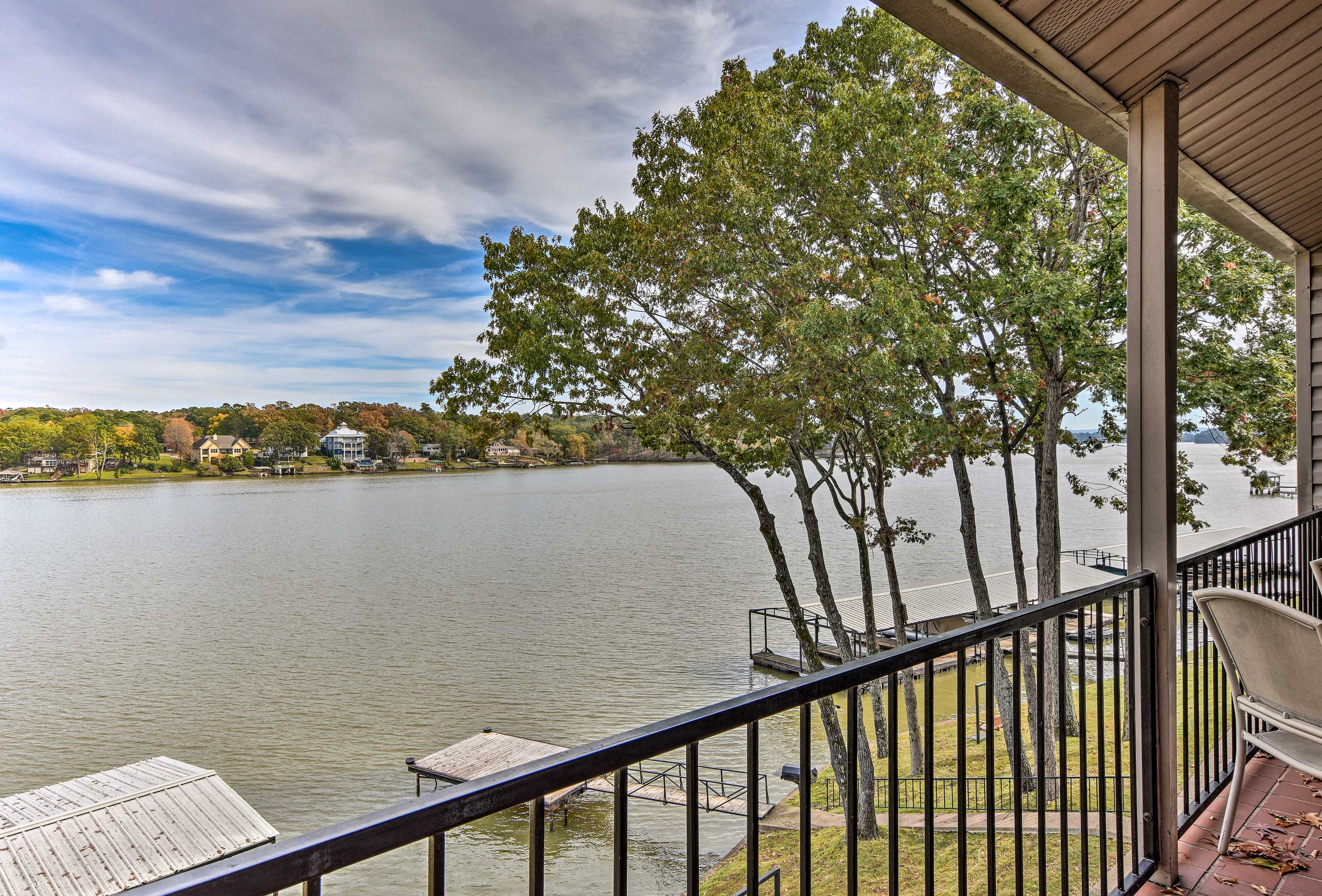 Take in the beautiful views of the Ouachita River.