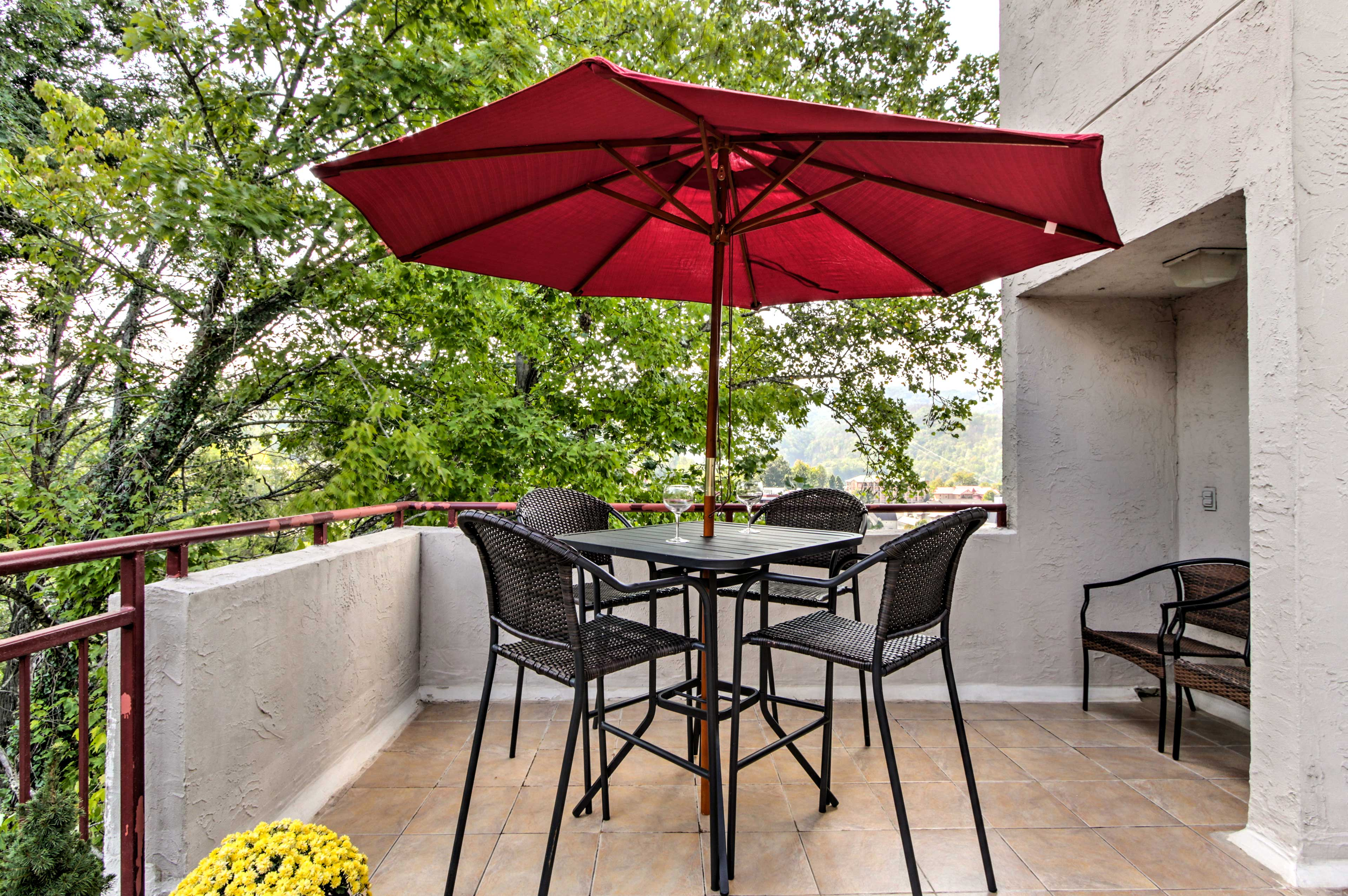 Spend countless hours on your private 250-foot terrace.