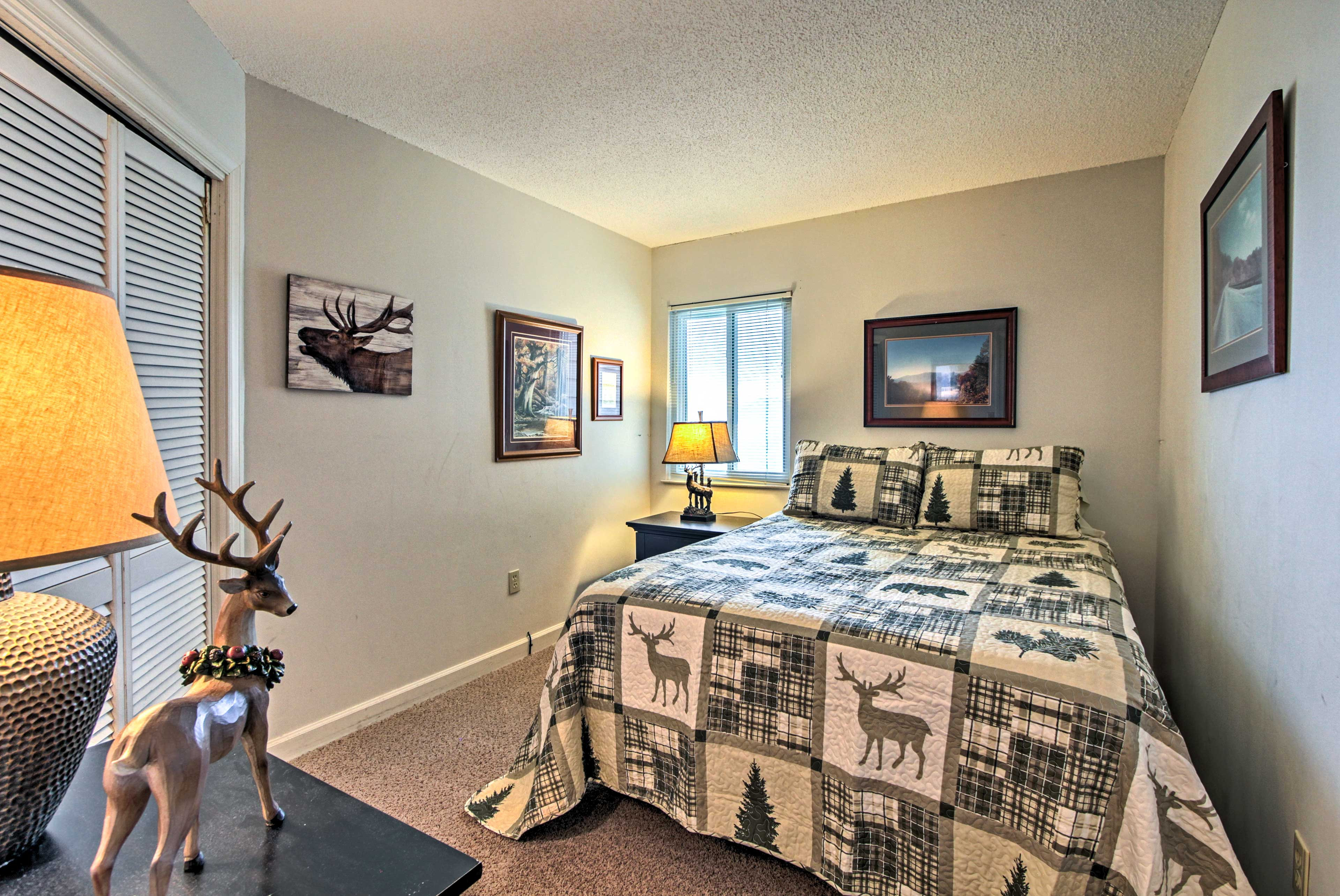 Choose from one of the 3 bedrooms when you're ready to retire.