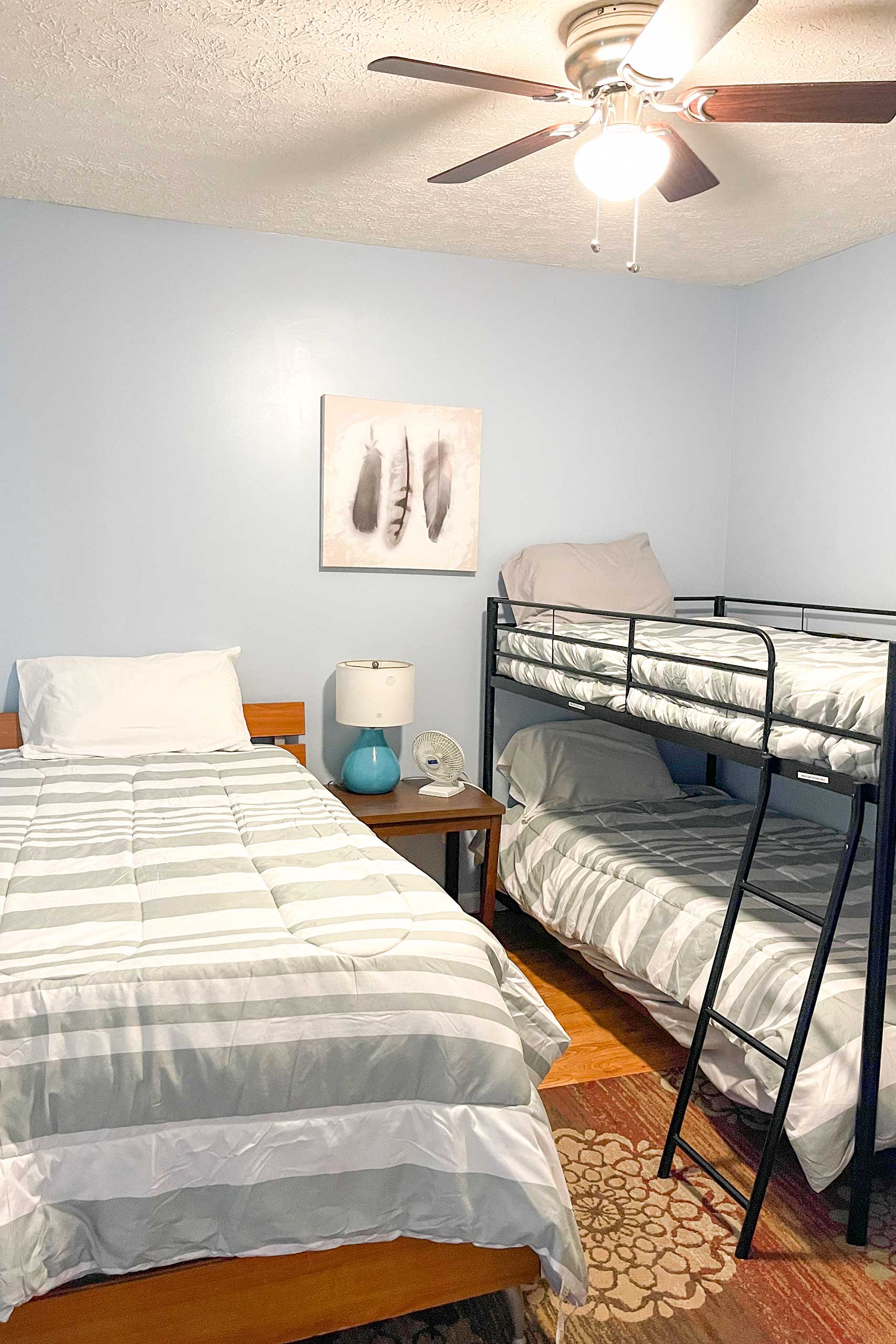 Bedroom 2   Twin Bunk Bed   Twin Bed