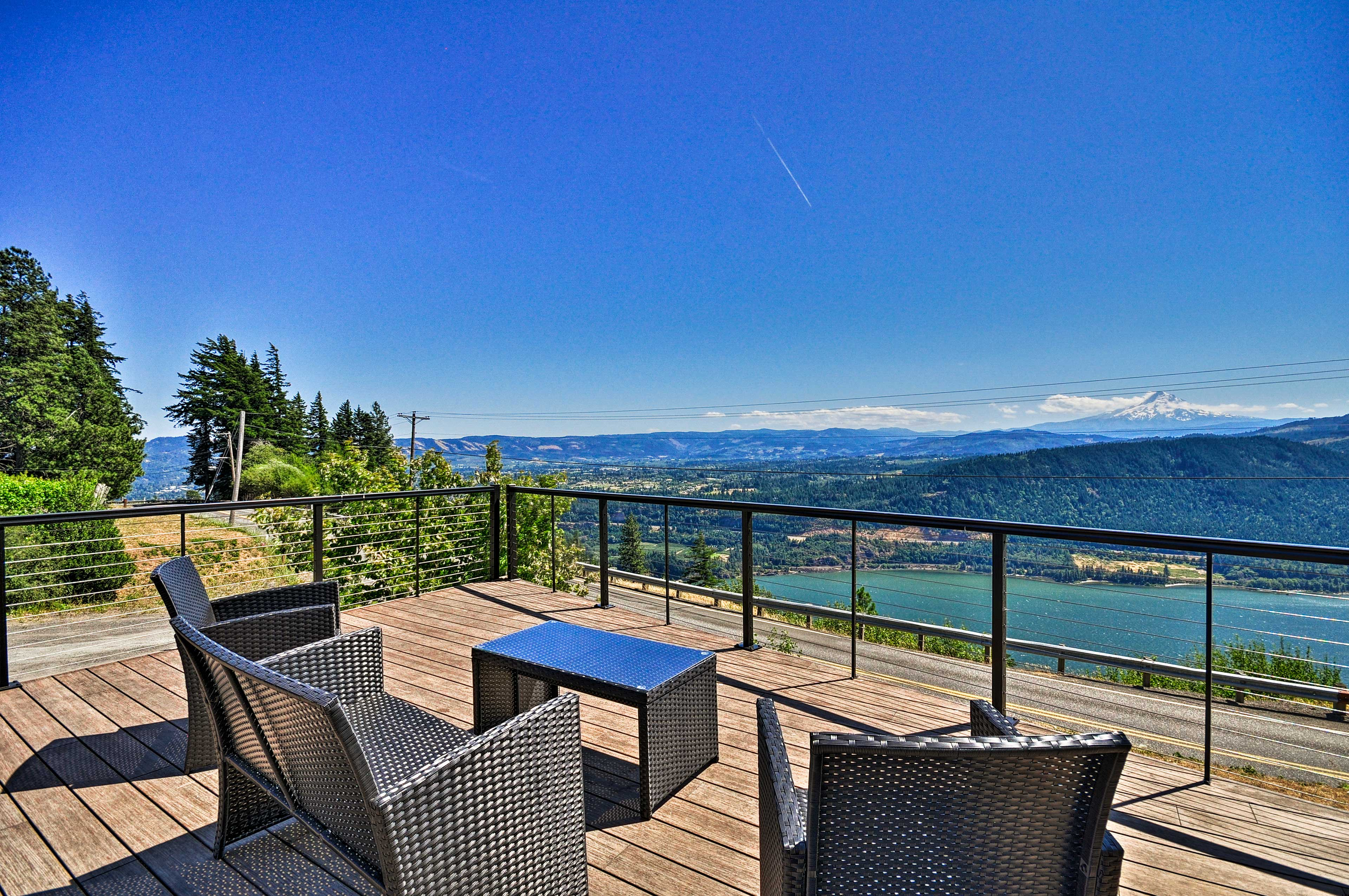 This stunning Underwood home has a beautiful view of Mt. Hood!