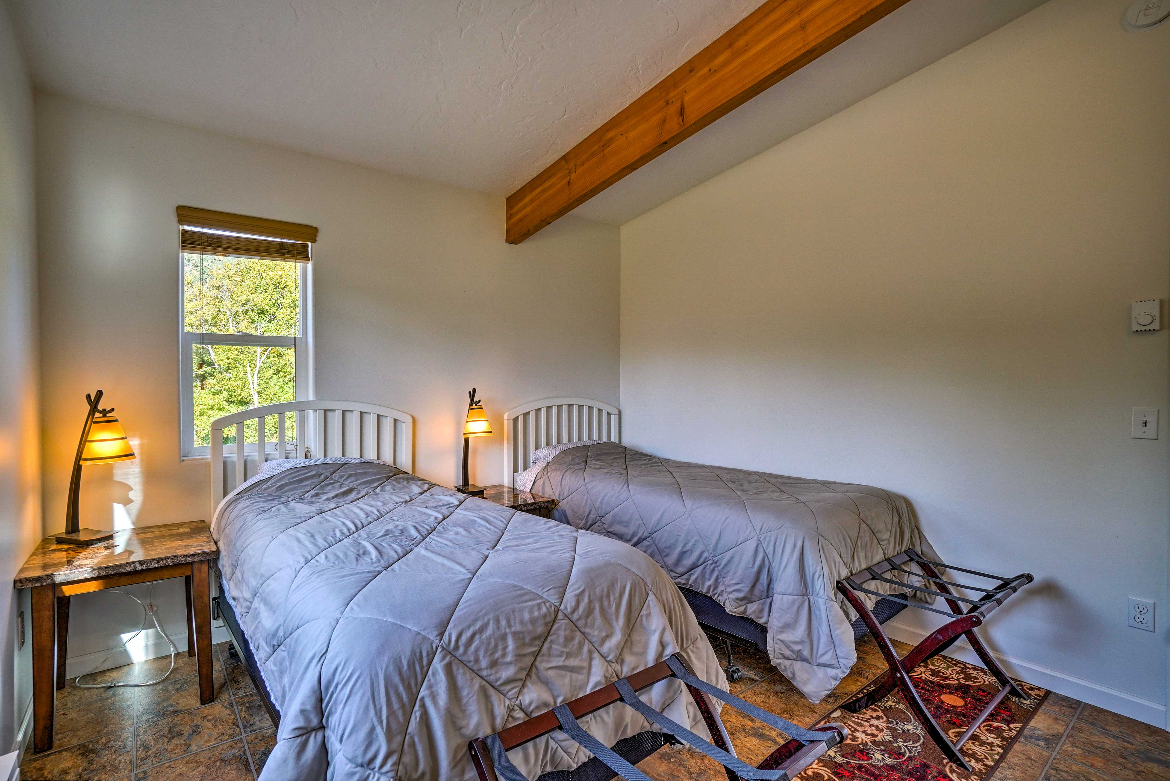 Dream of tomorrows adventures in the 2 twin beds.