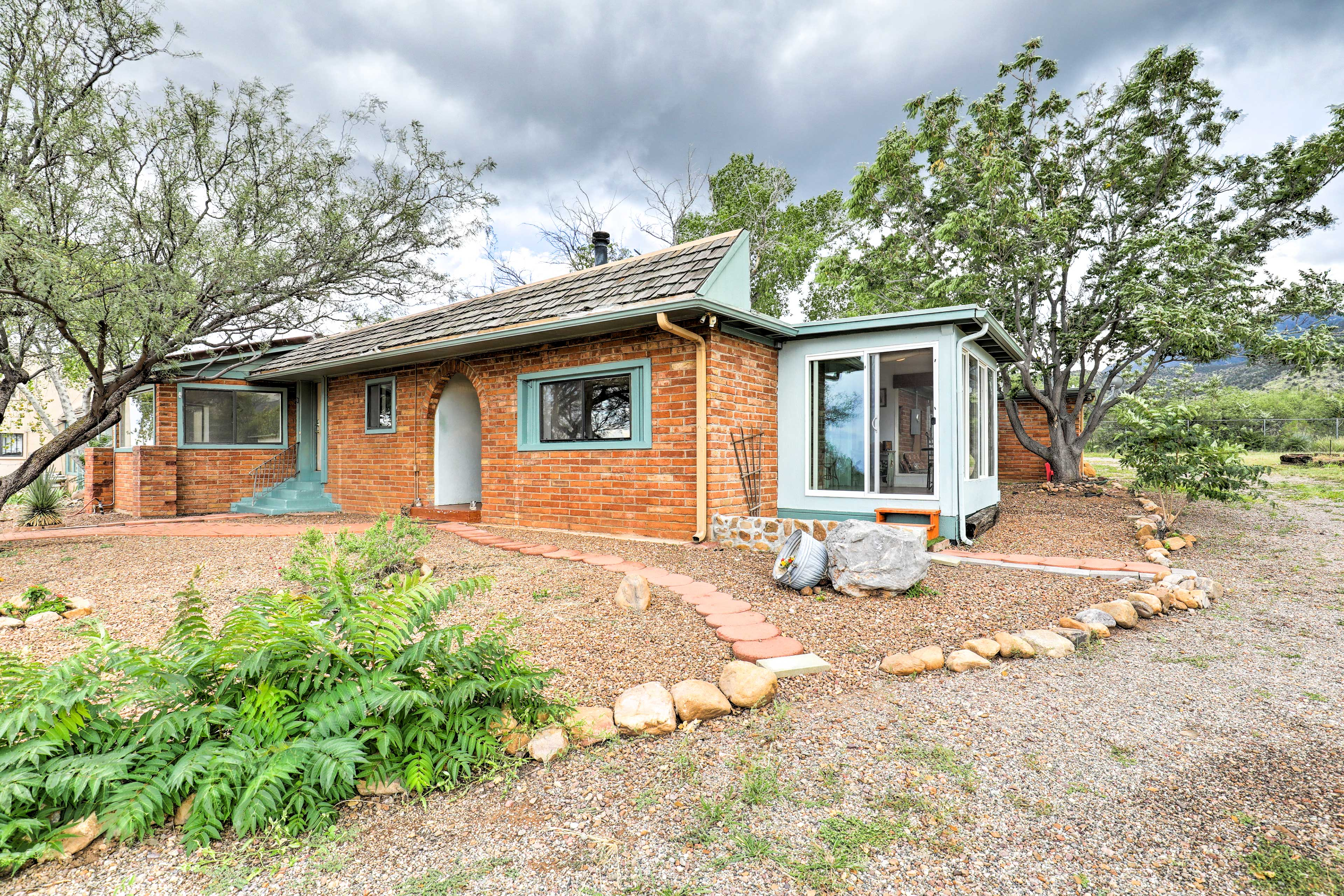 This vacation rental house is available at the Apache Point Ranch!