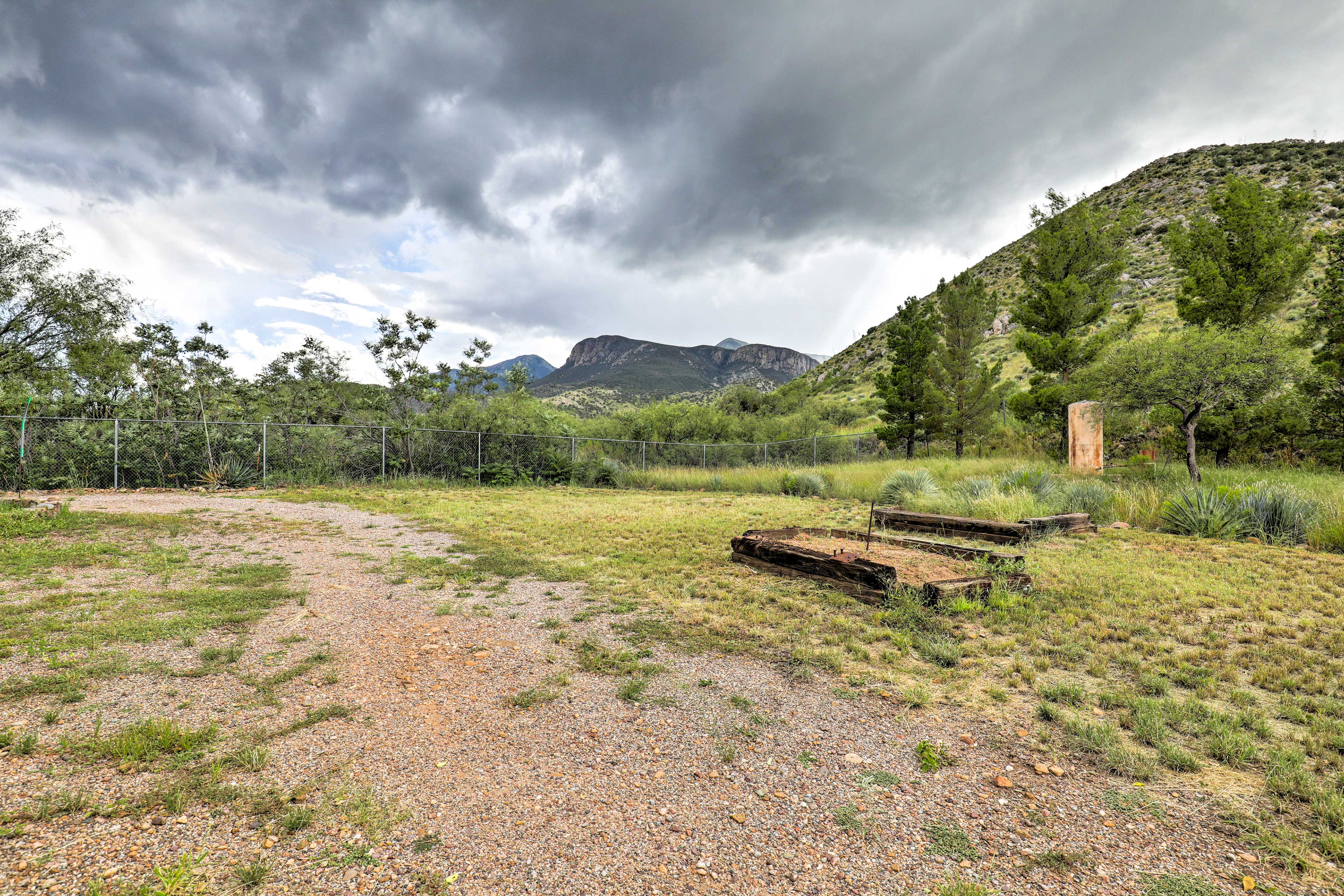 Immerse yourself in this serene and remote landscape at the ranch.