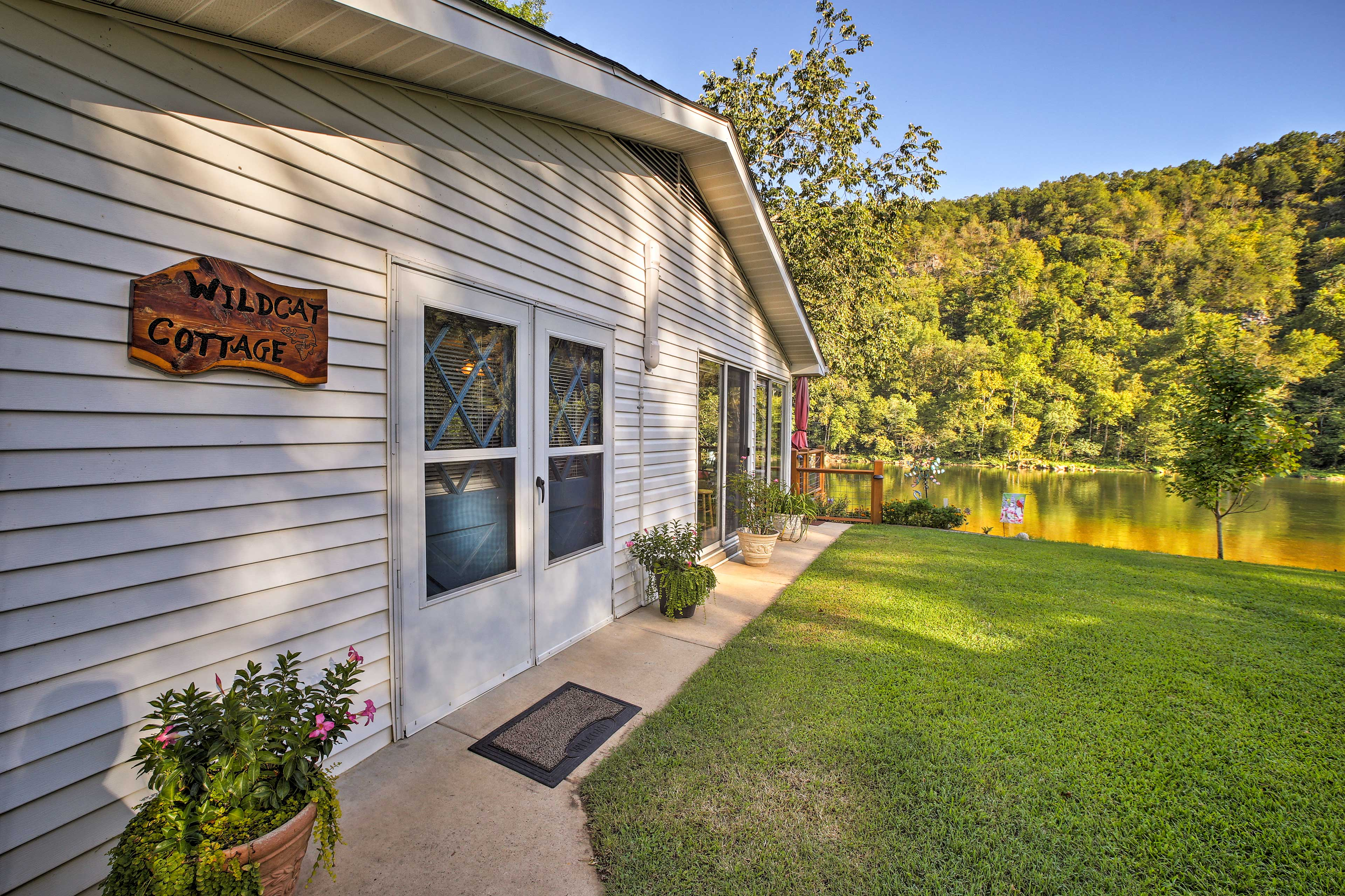 Make 'Wildcat Cottage' your next family holiday destination.