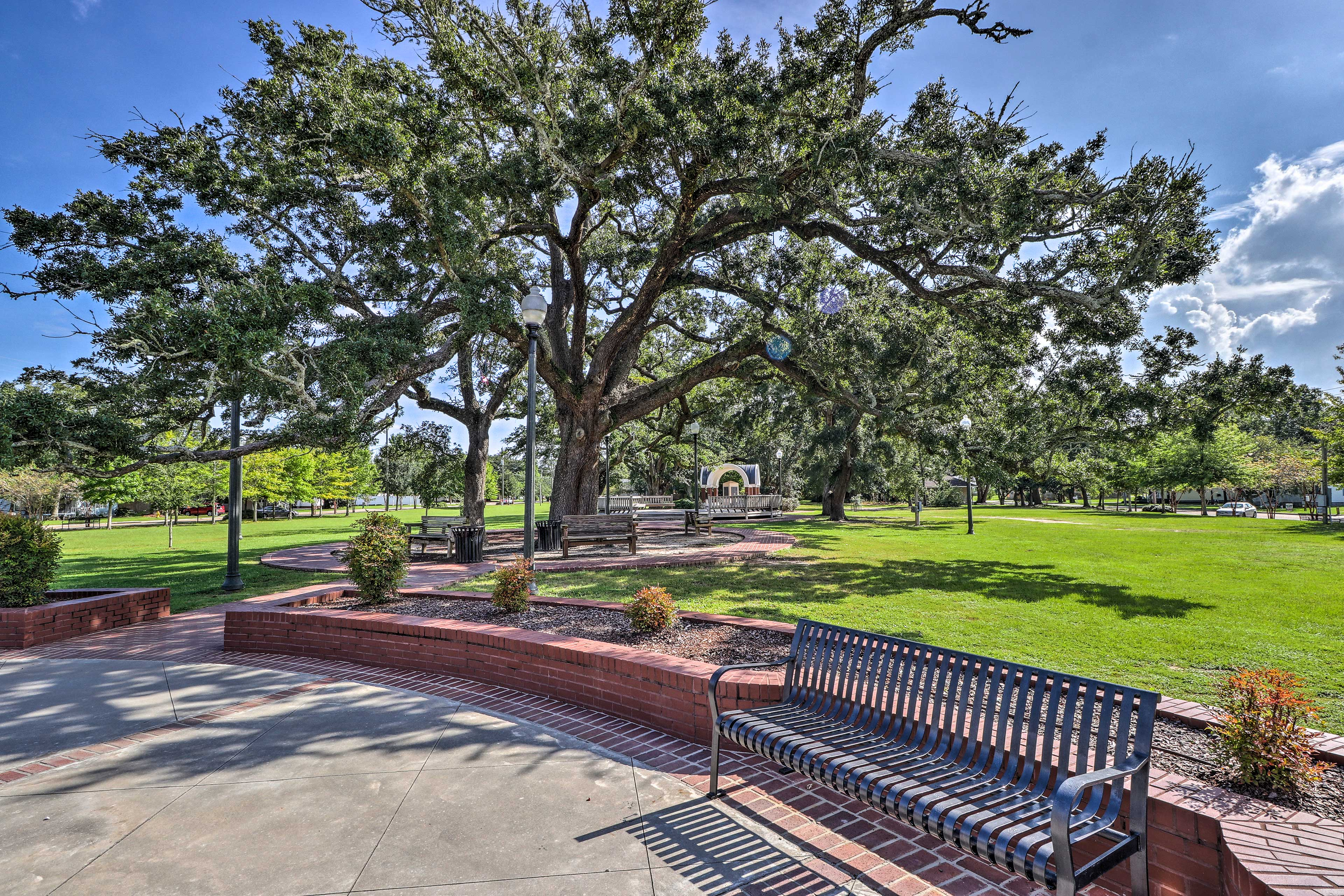 Harper Mccaughan Pavilion is a lovely park 5 minutes from the property.