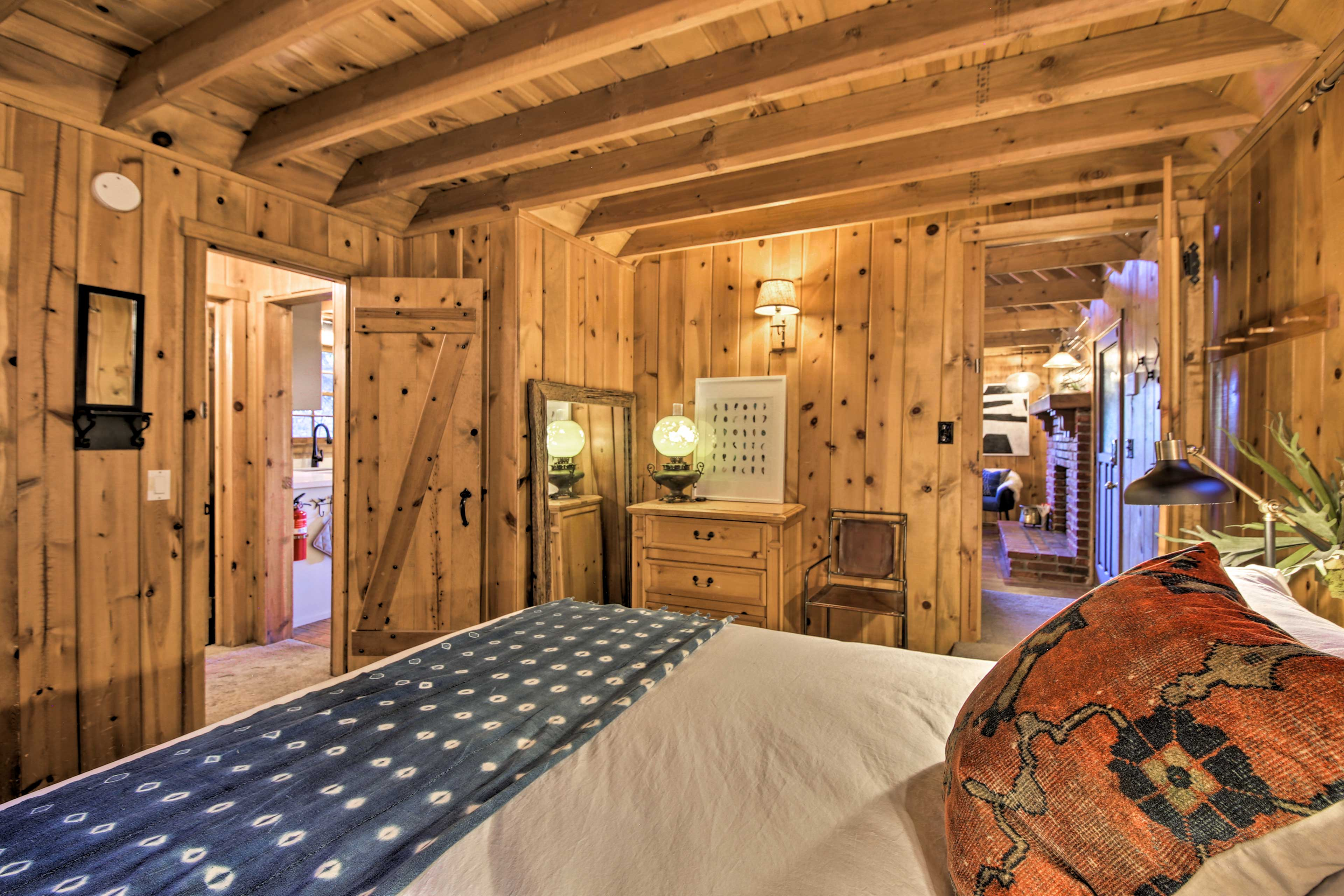 With central heat, you're sure to feel at home in this cozy cabin.