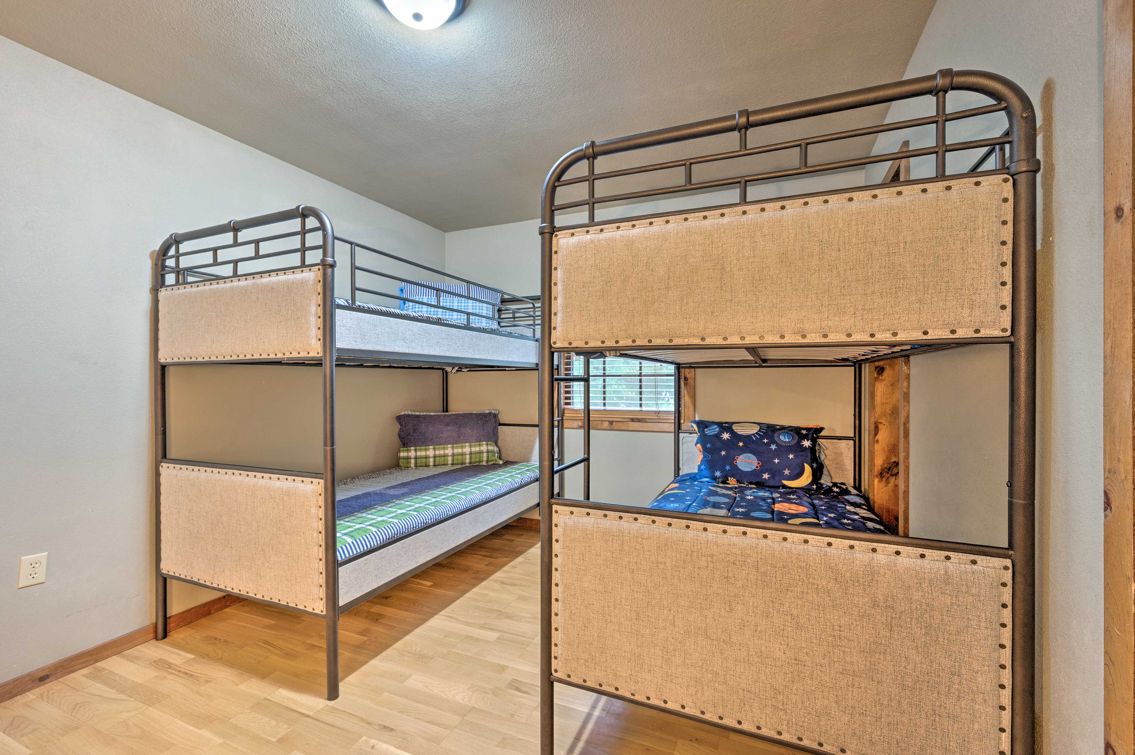 Kids and close friends love this bedroom.