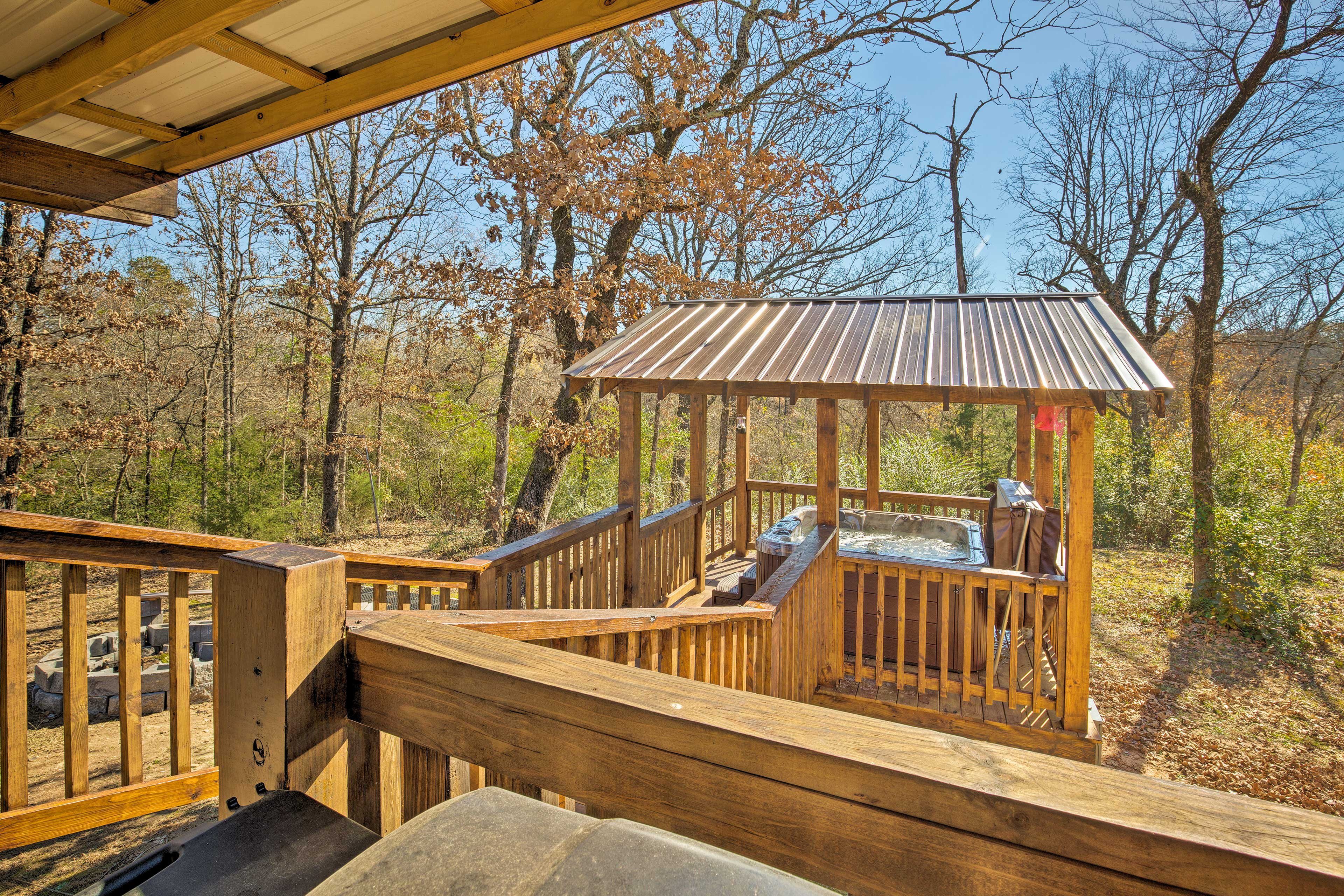 You'll love gazing off into the peaceful Oklahoma views.