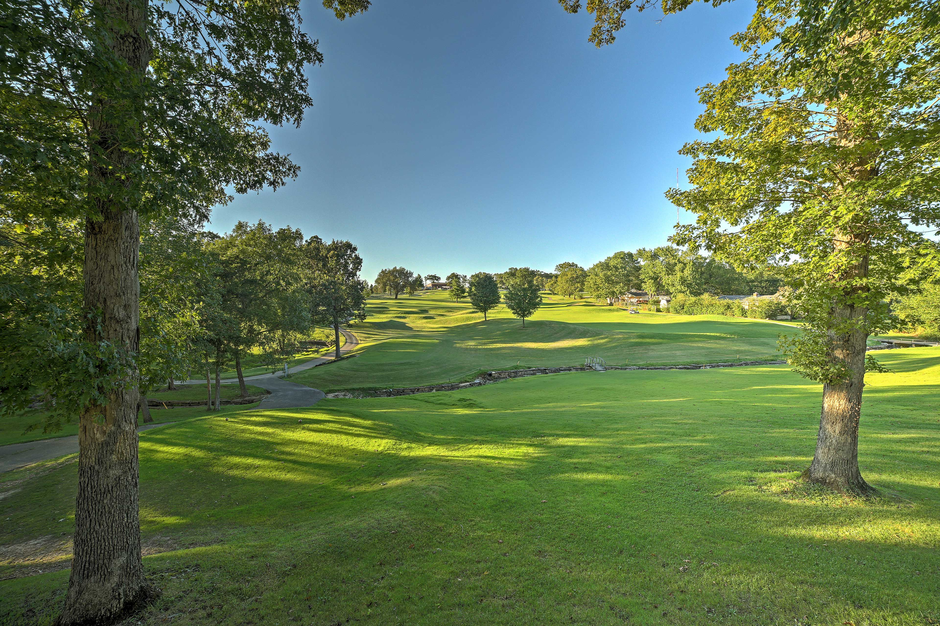 If golf is your game, be sure to take advantage of the 18-hole course.