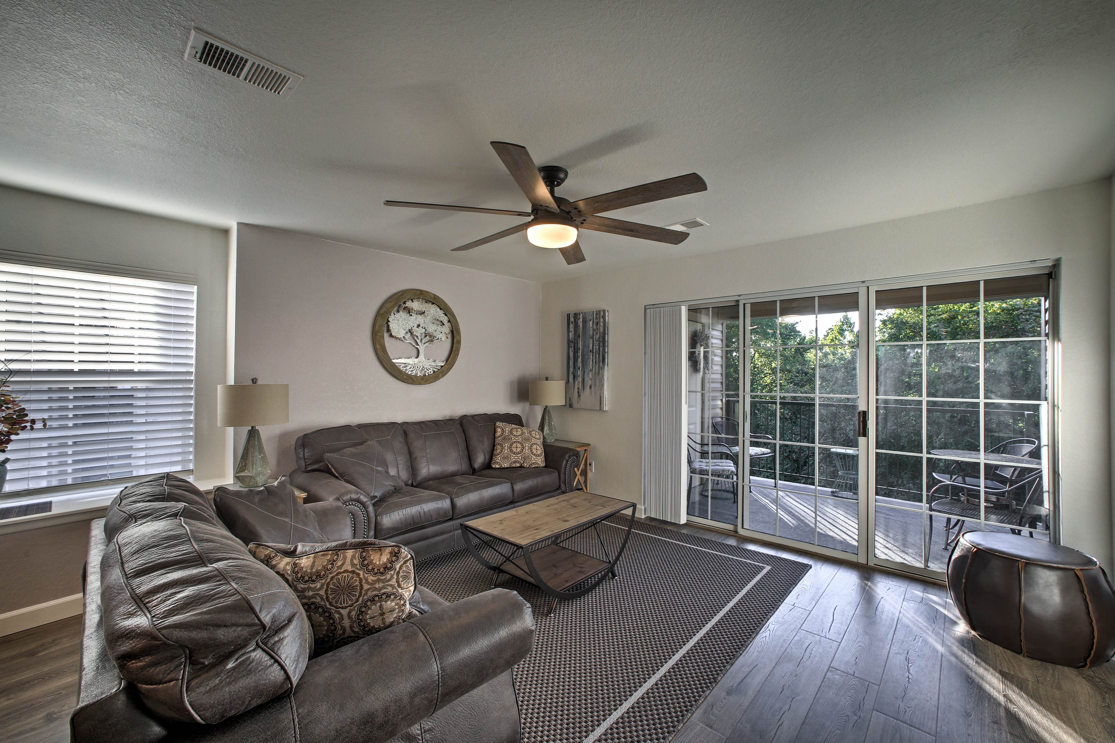 You'll feel right at home in this well-appointed living space.