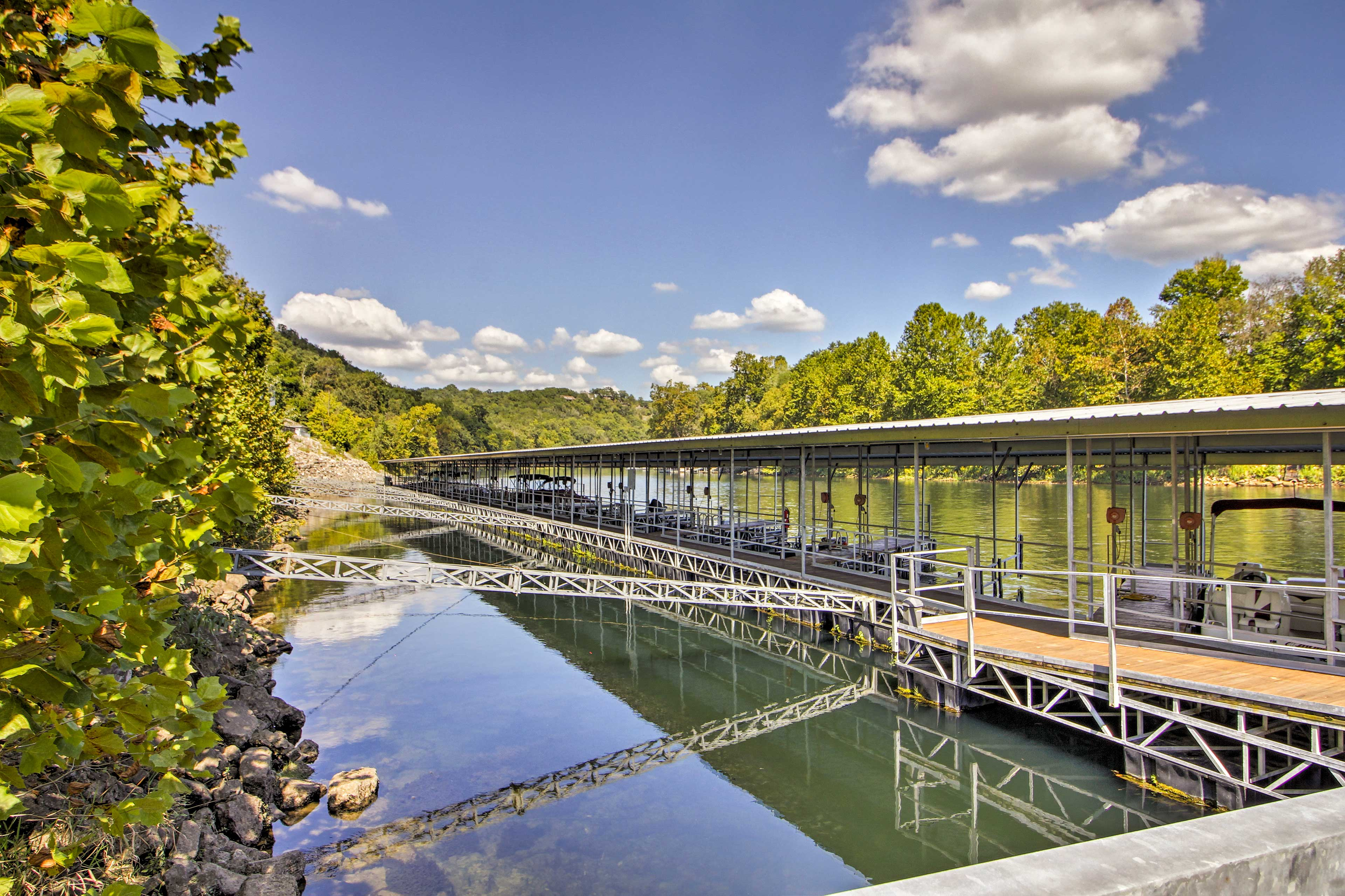 Fall Creek Condos Community Dock
