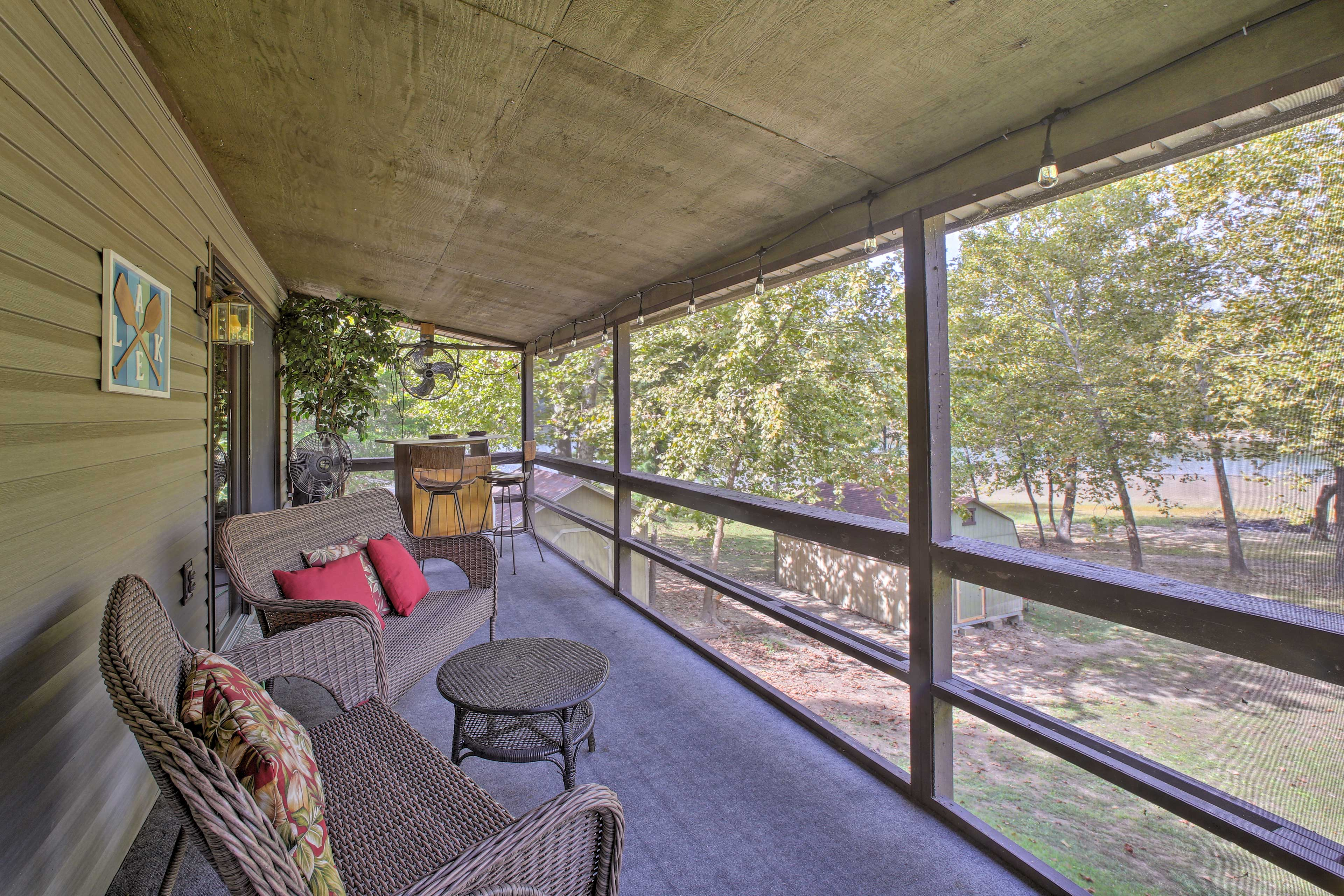 Make the most of your Show-Me State getaway at this 3BR, 2BA vacation rental.