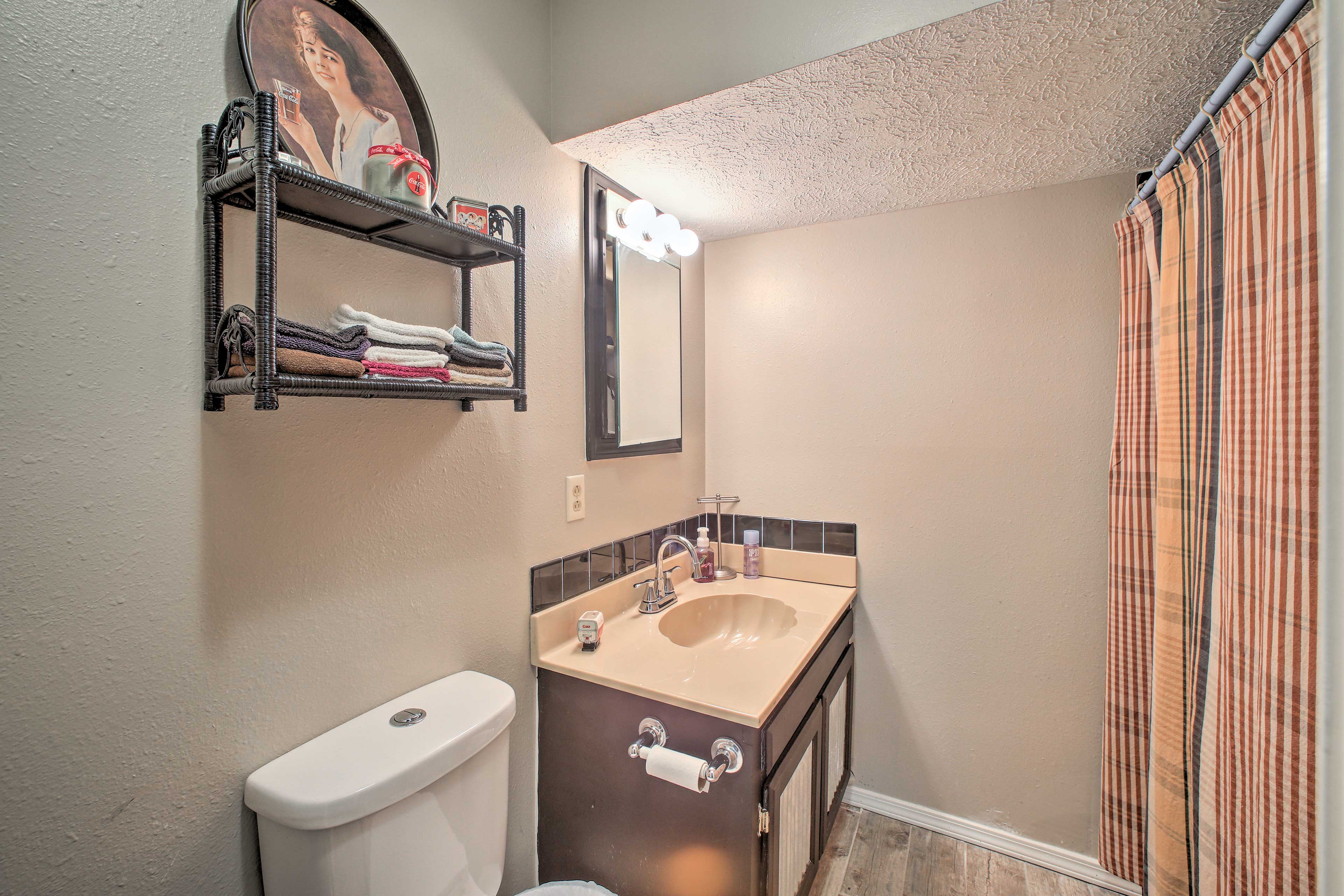 The second bathroom is also a full.