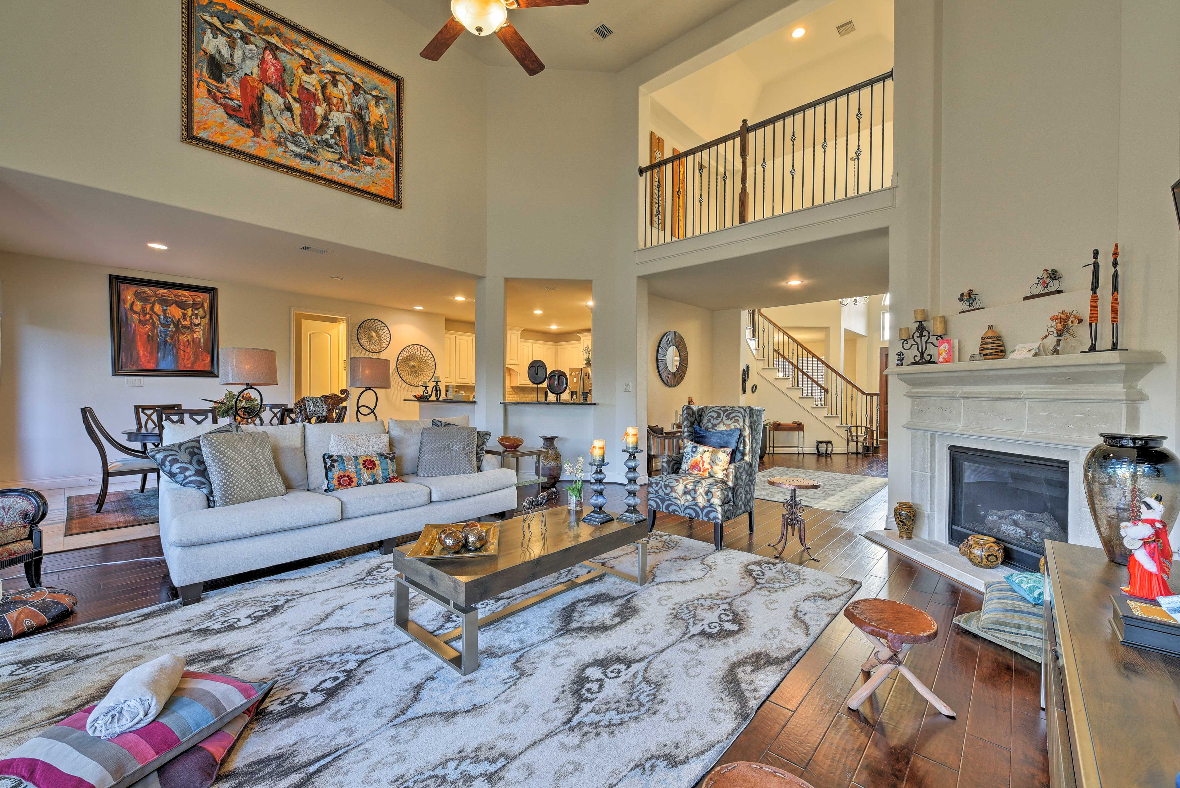 Elevate your Houstin stay at this spacious vacation rental home!