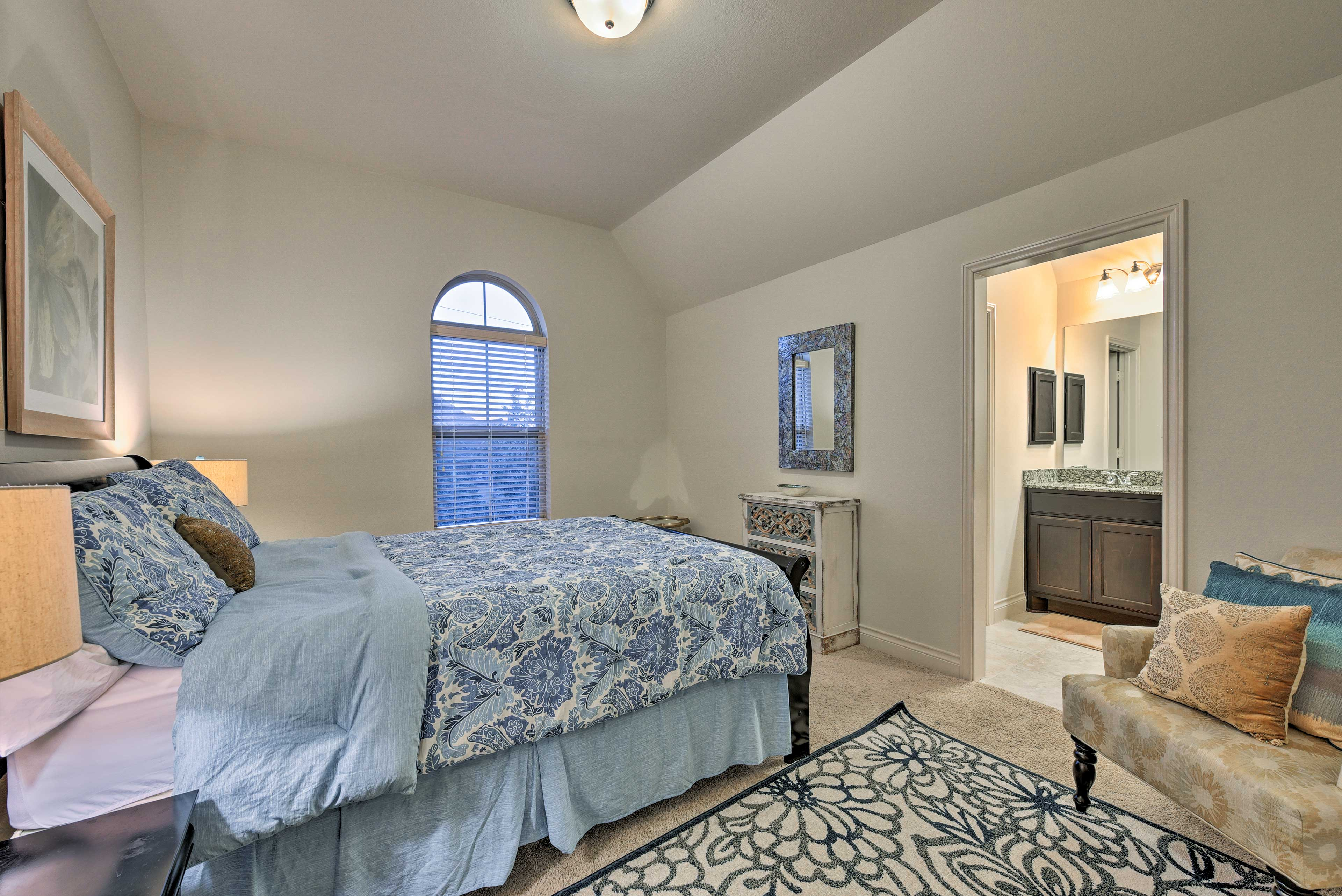 Guests are sure to sleep soundly in whichever room they choose!