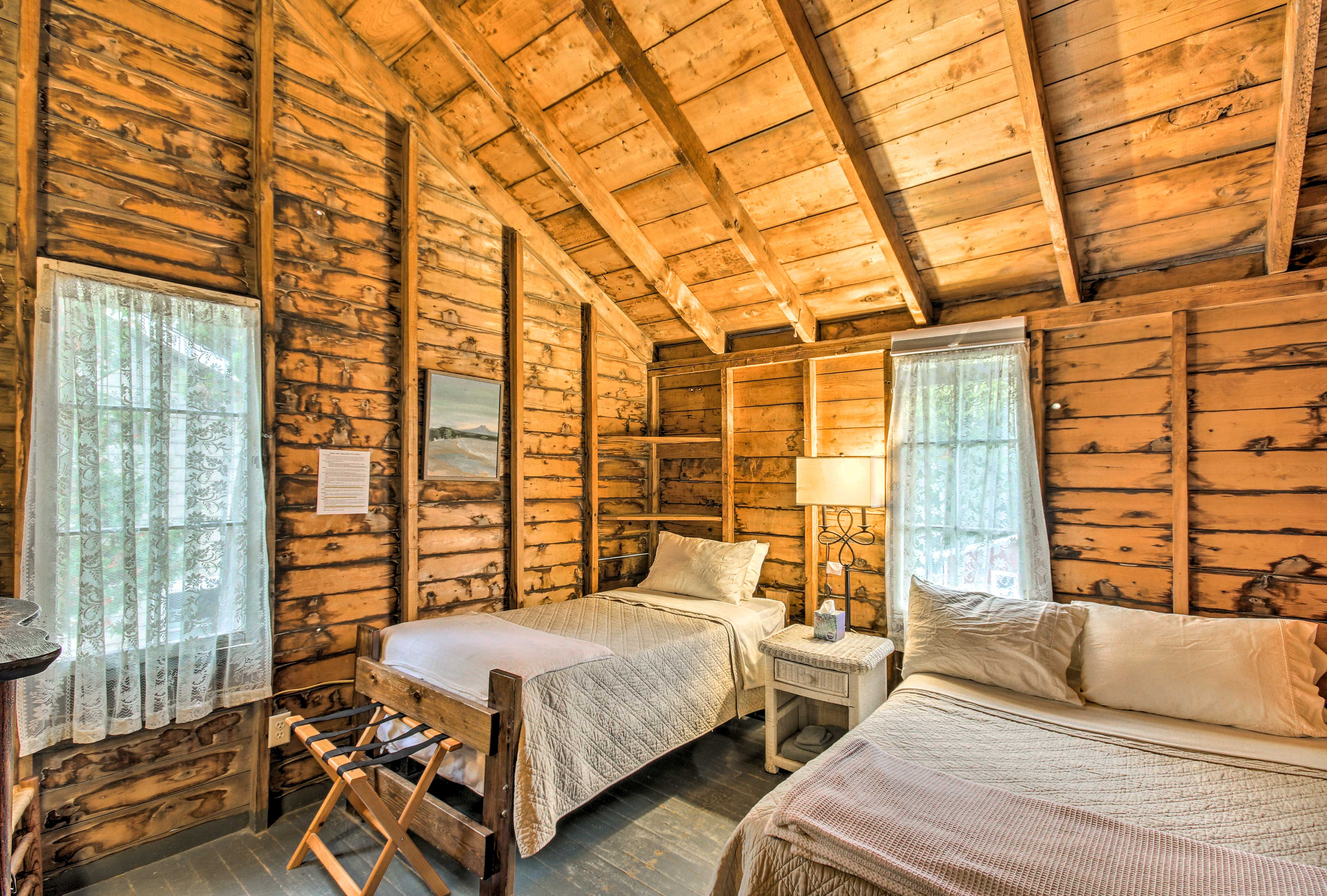 Up to 3 travelers can become roommates in the 3rd upstairs bedroom.