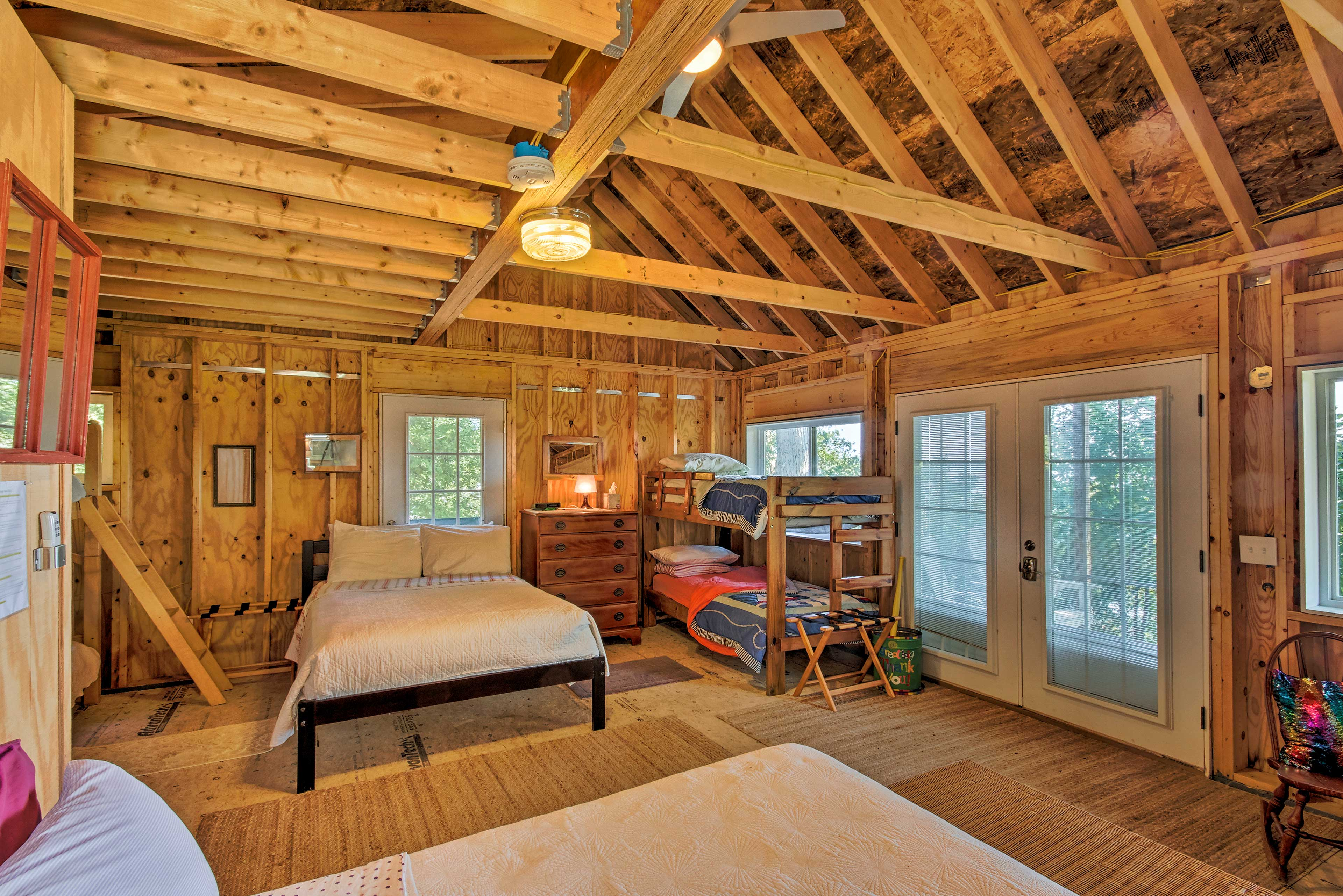 Traveling with kids? They'll love the bunkhouse!