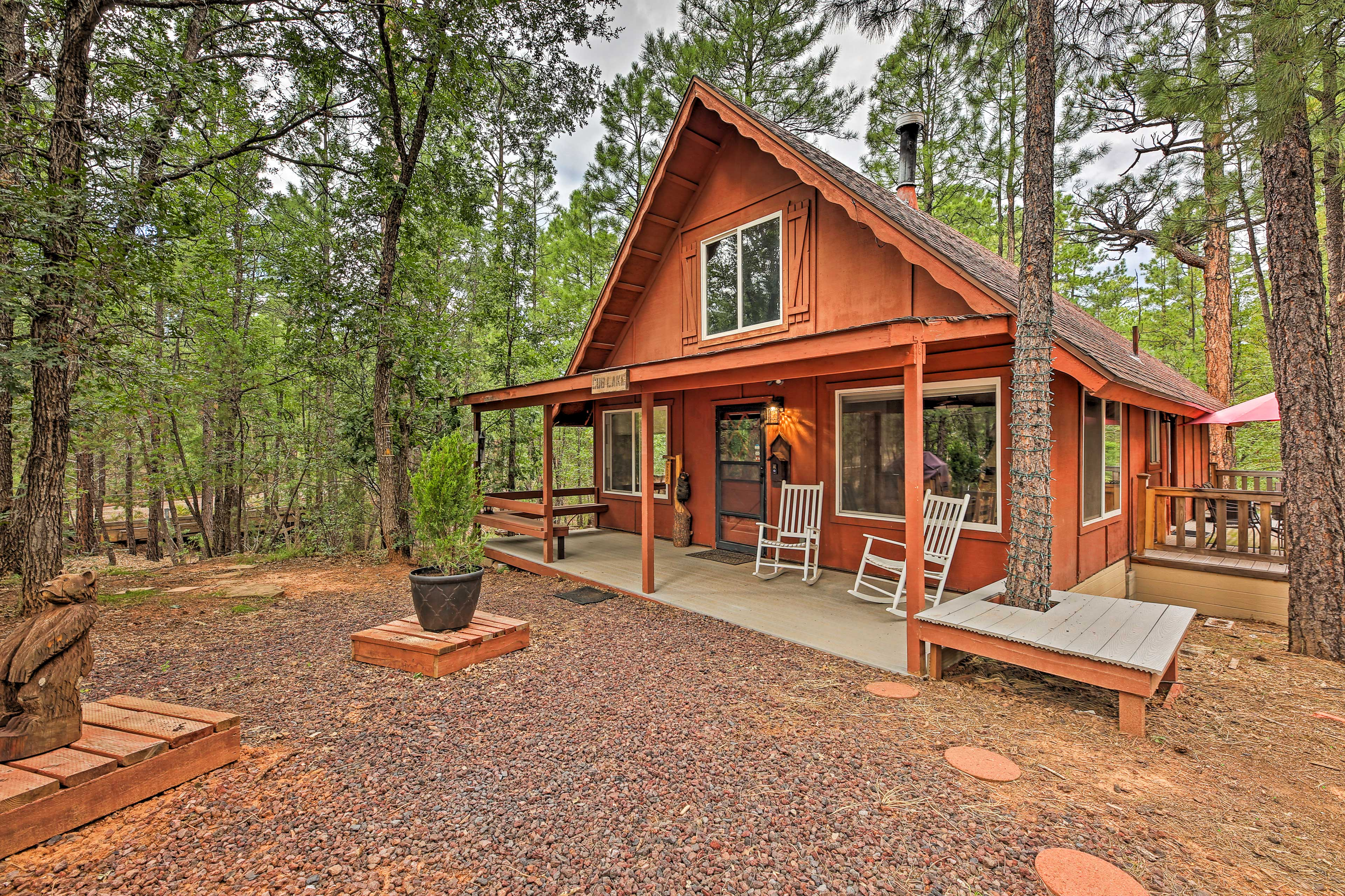 Exterior | Front Porch | Rocking Chairs