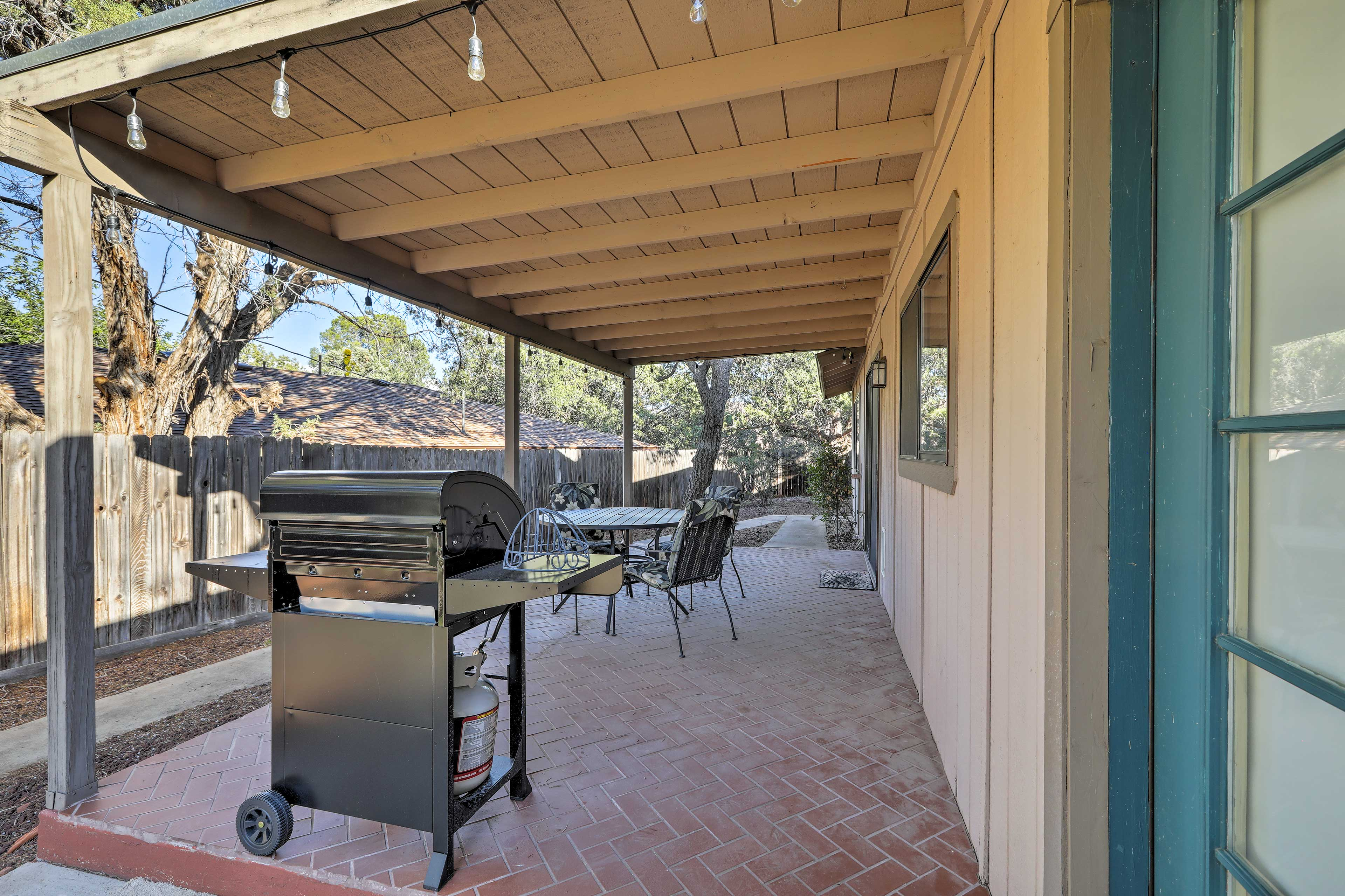 Fire up the gas grill for a barbecue dinner!