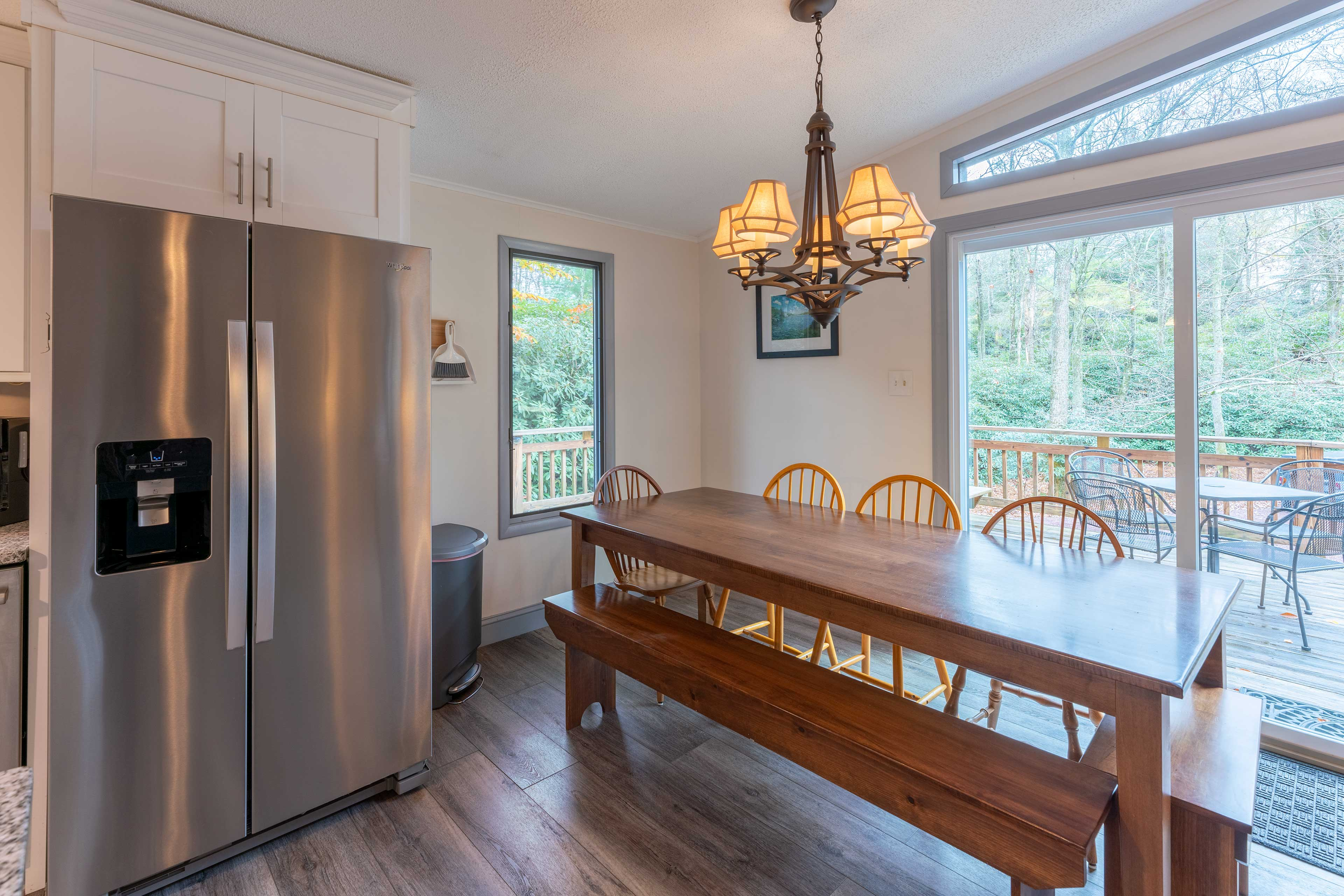 Dining Room   Wooded Views
