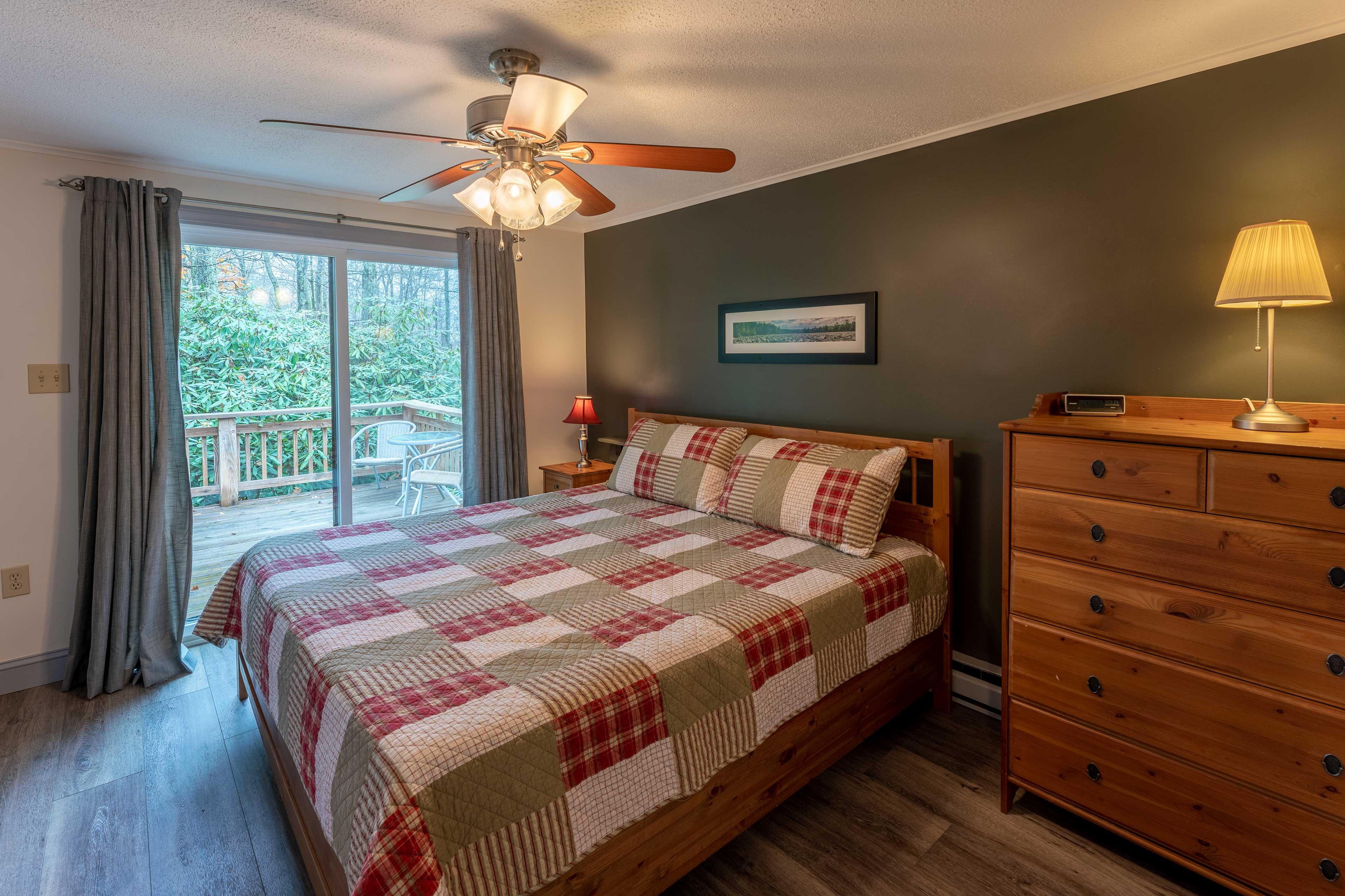 Bedroom 2   Deck Access
