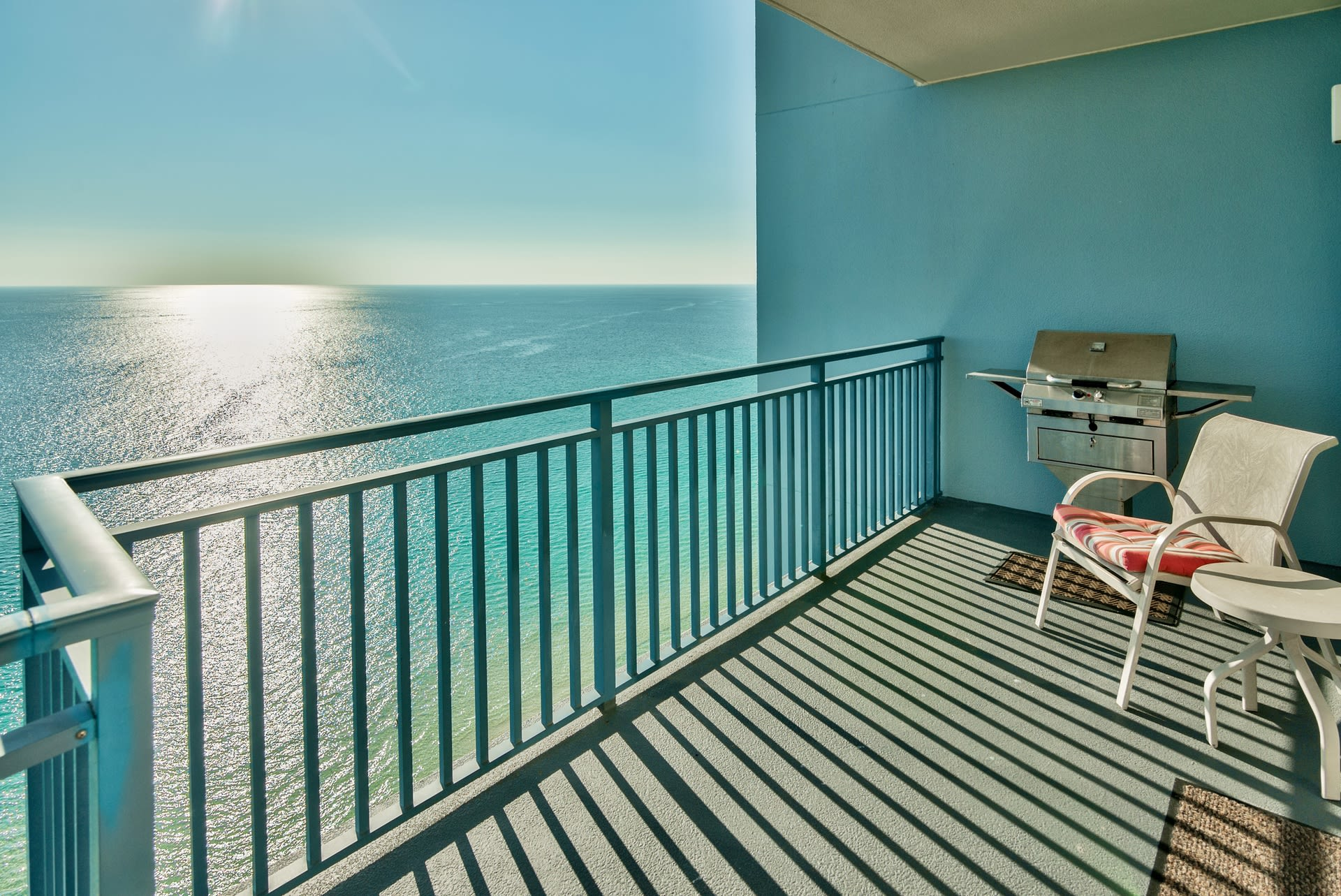 Private Balcony   23rd-Floor Unit