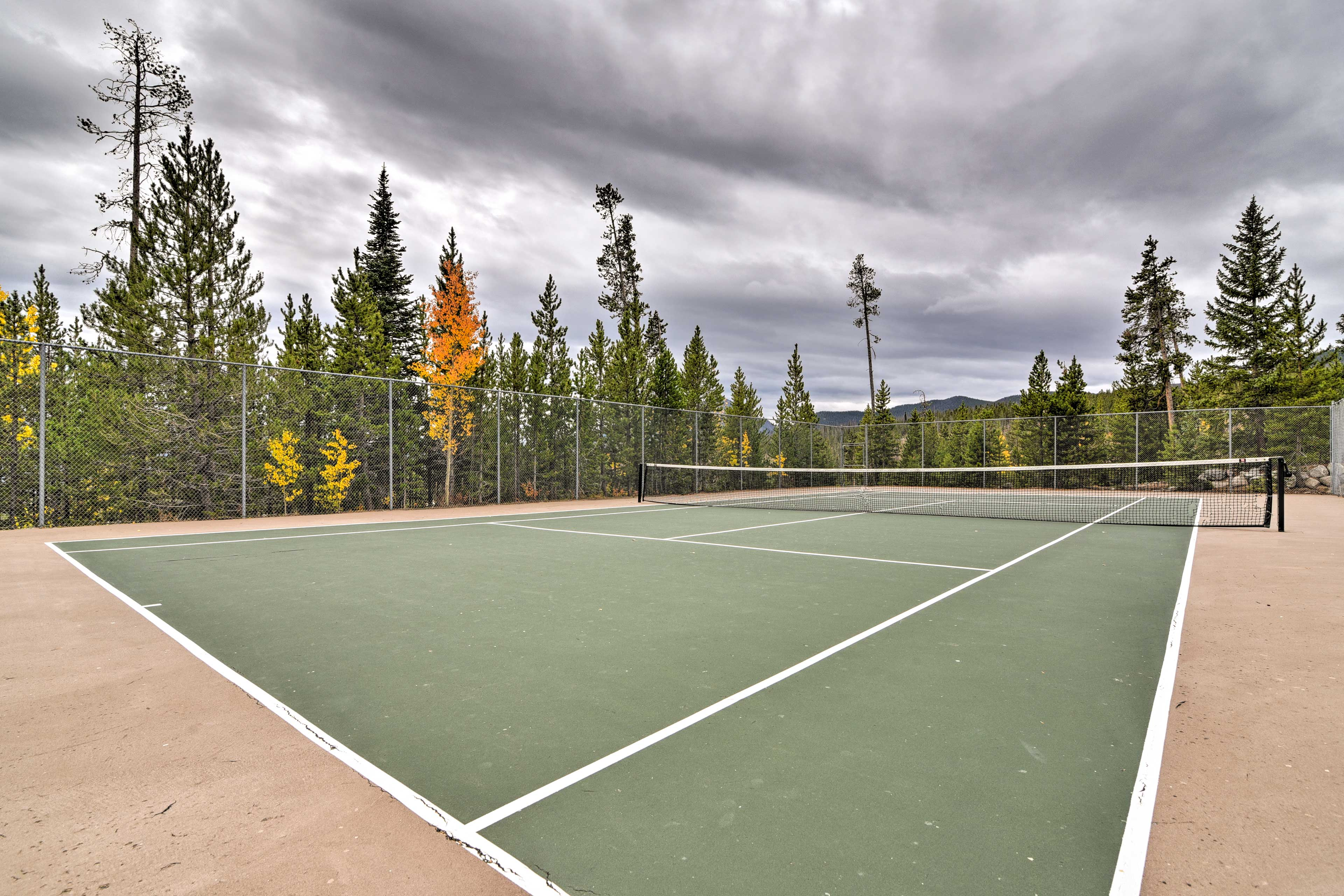 Show off your skills on the tennis court.