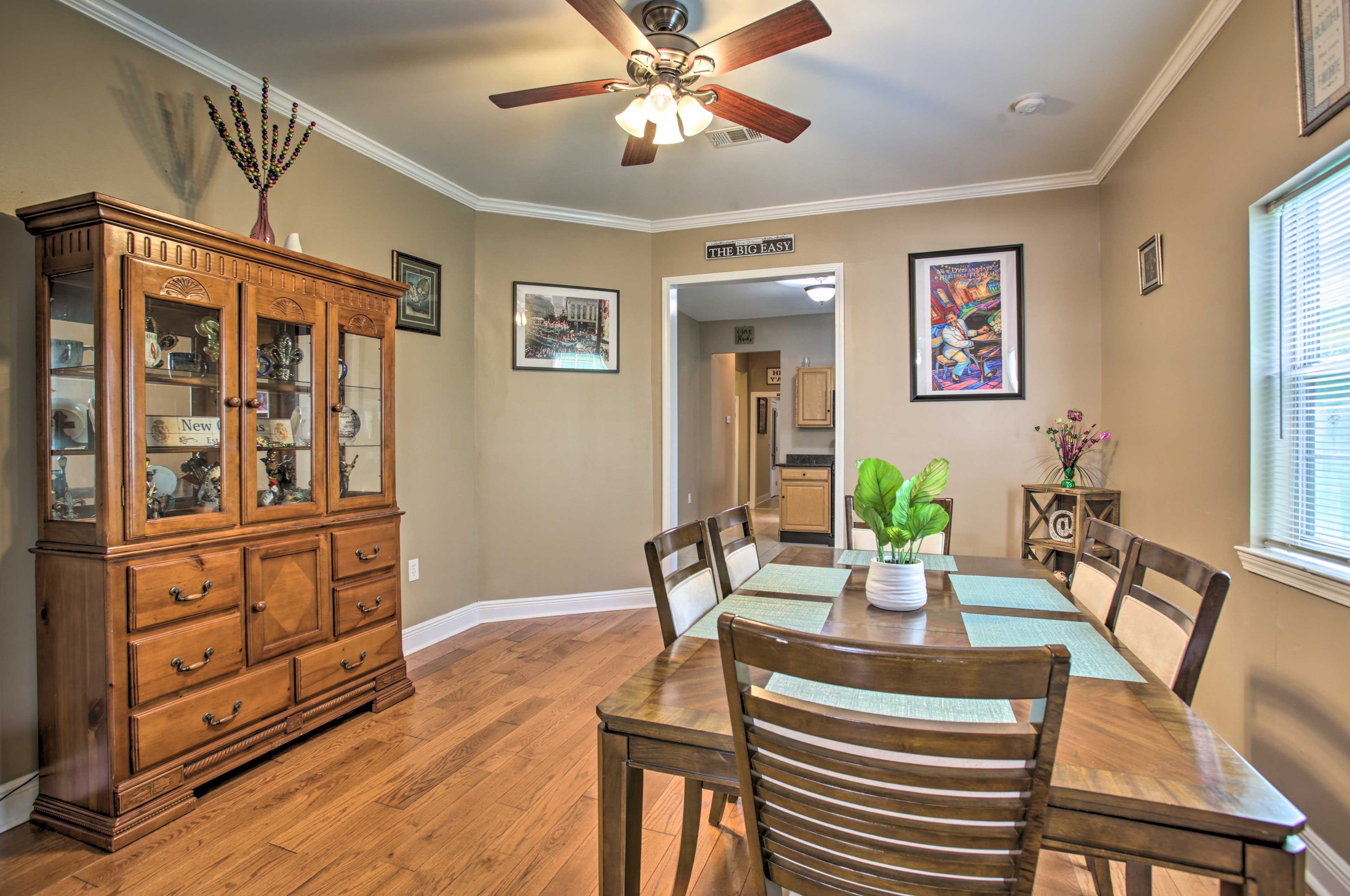 New Orleans Vacation Rental | 4BR | 3BA | 2,200 Sq Ft | Stairs Required
